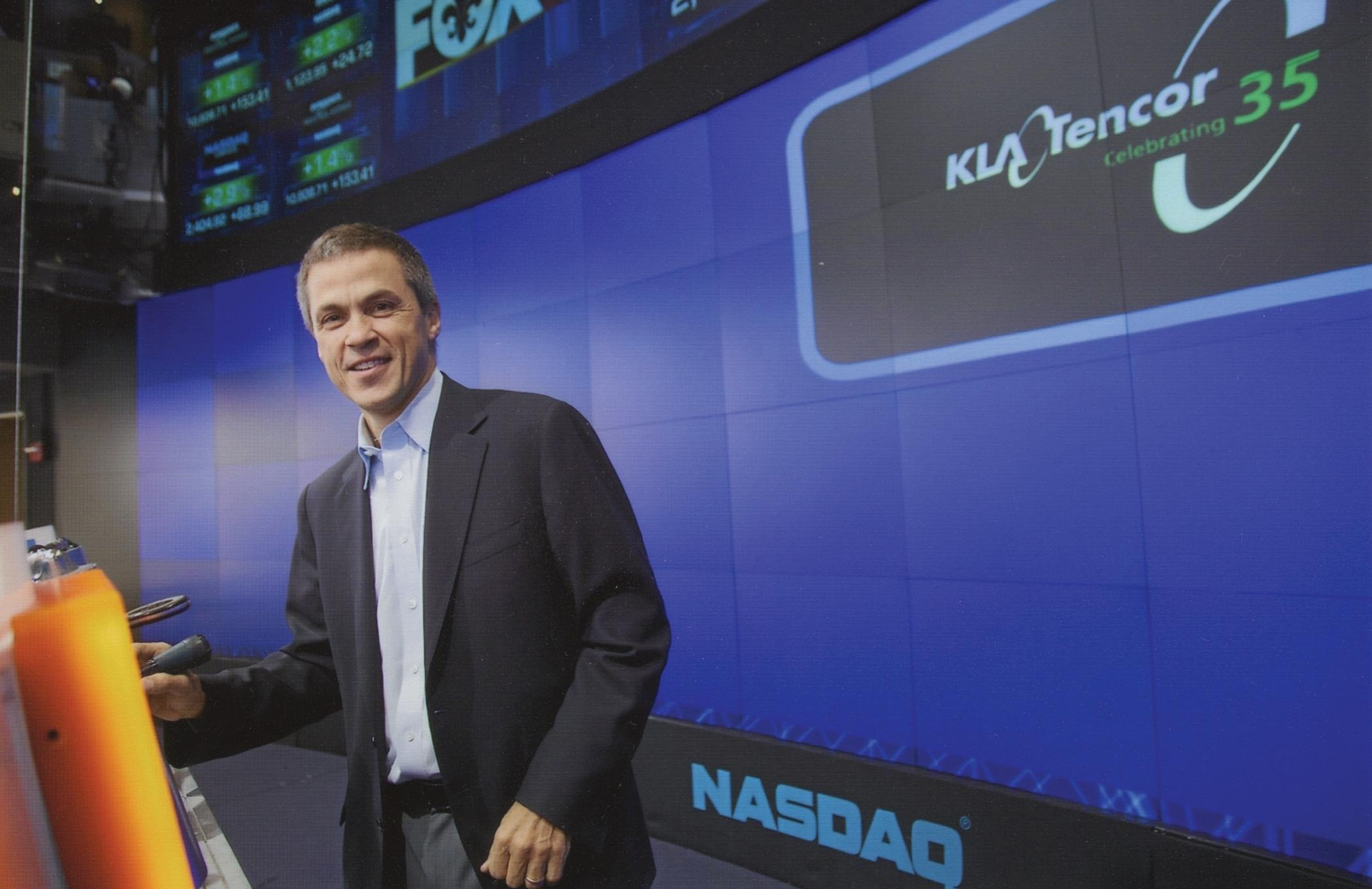 Rick Wallace, CEO of KLA-Tencor