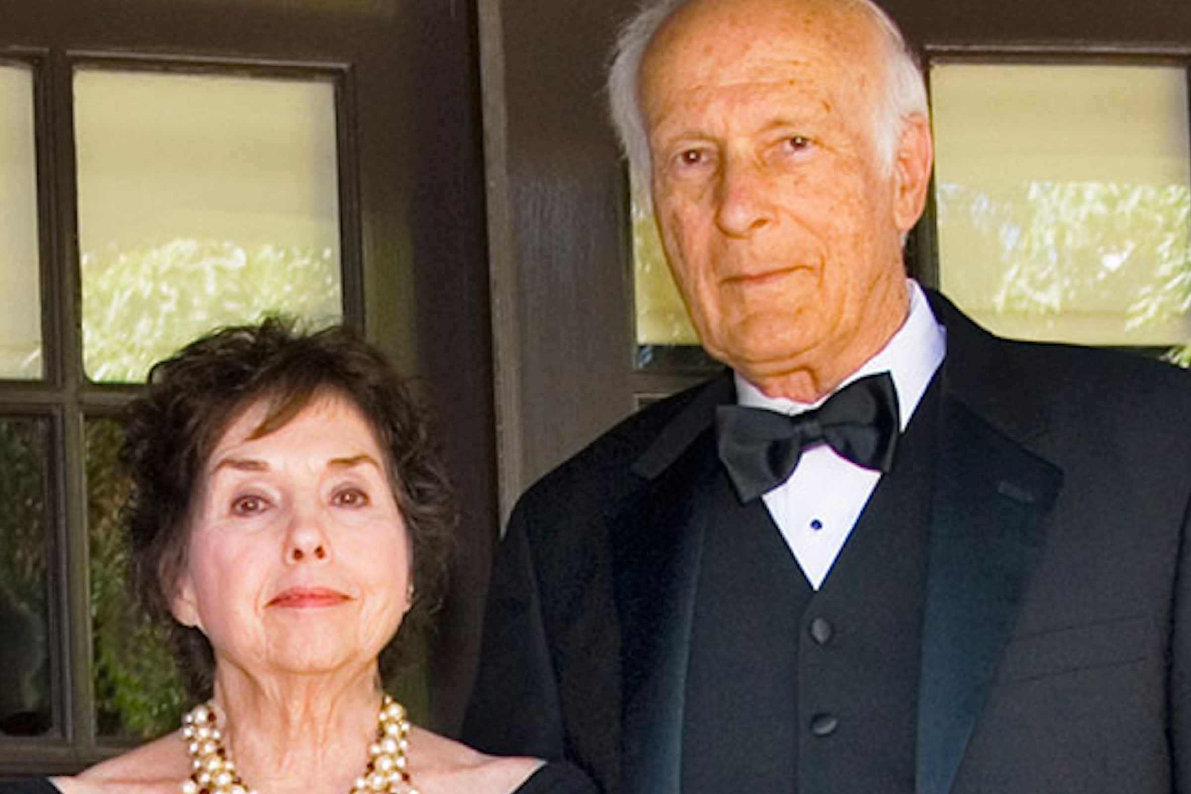 Portrait of Howard and Beverly Sachar.