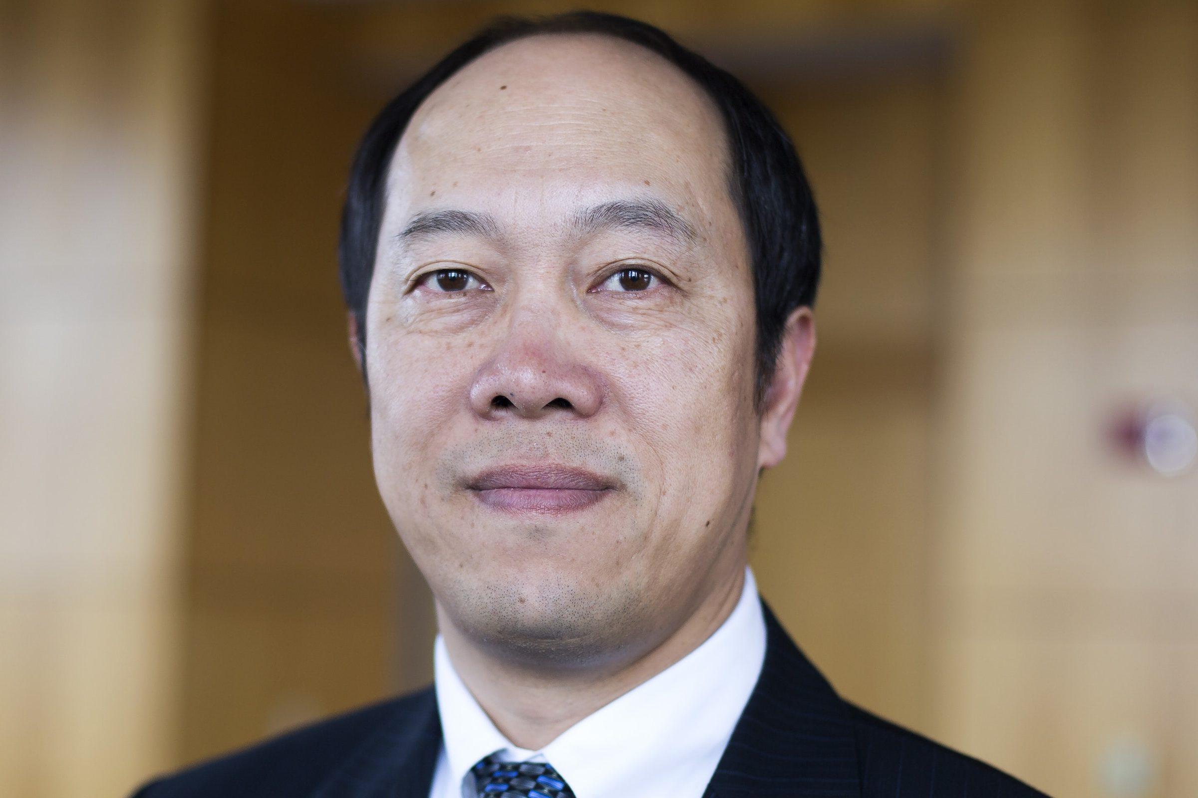 Portrait of Zhong He.