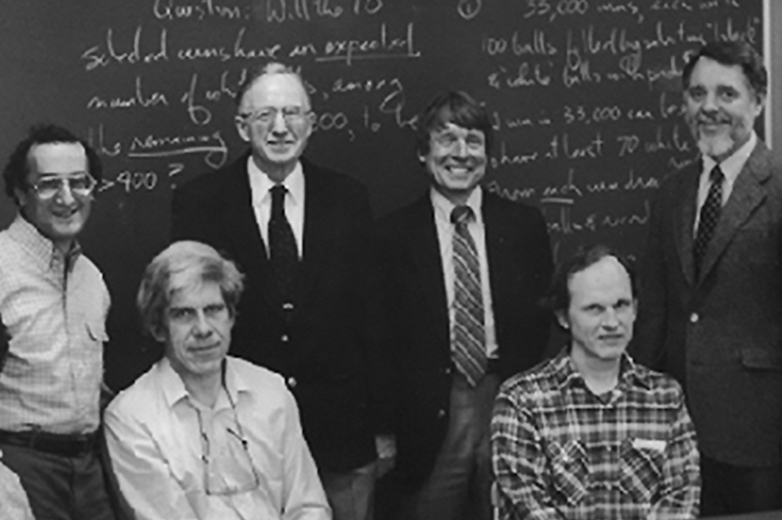 Group picture of the founding researchers as the Bach Group