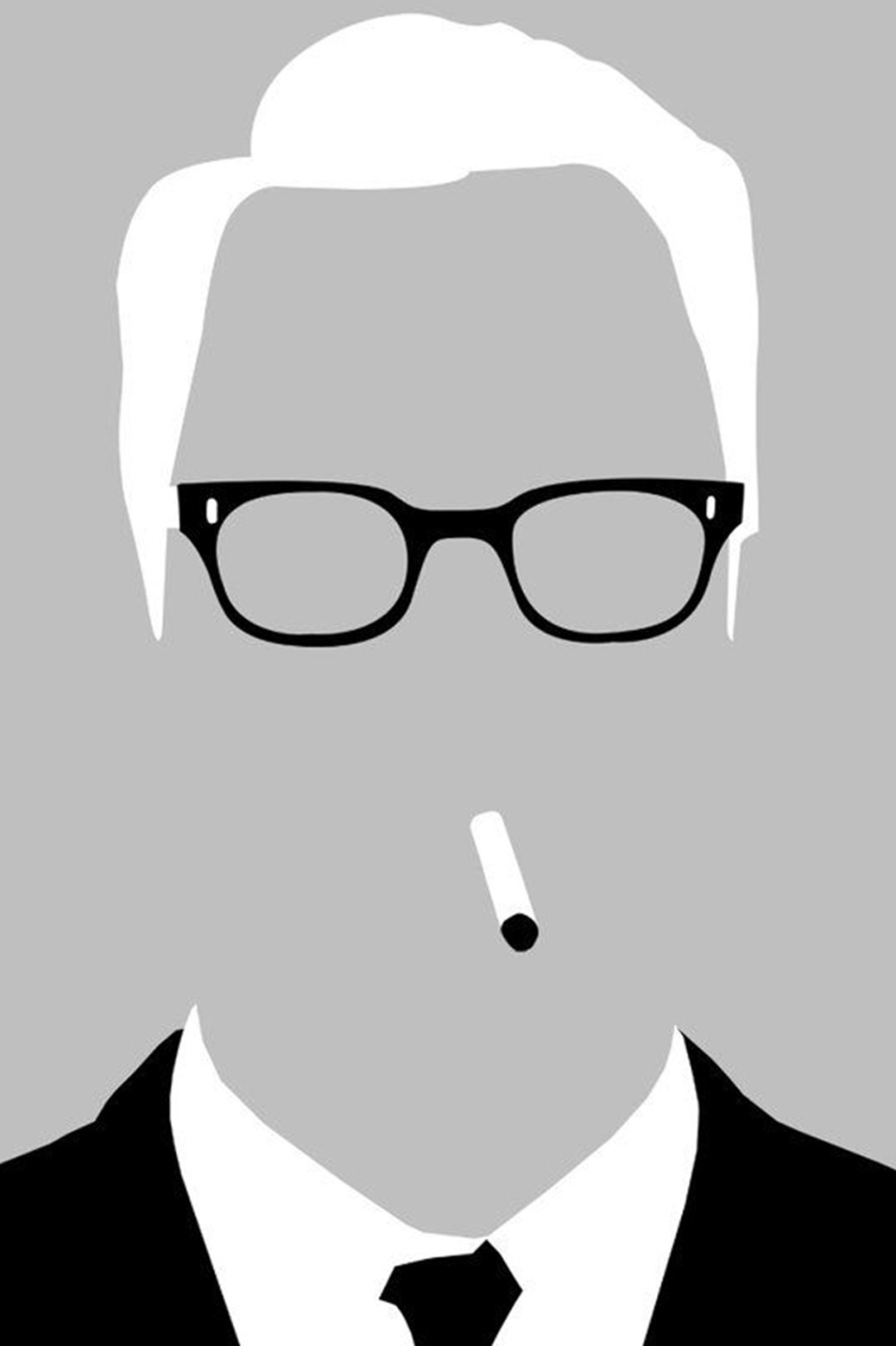 Vector Illustration of a man's portrait