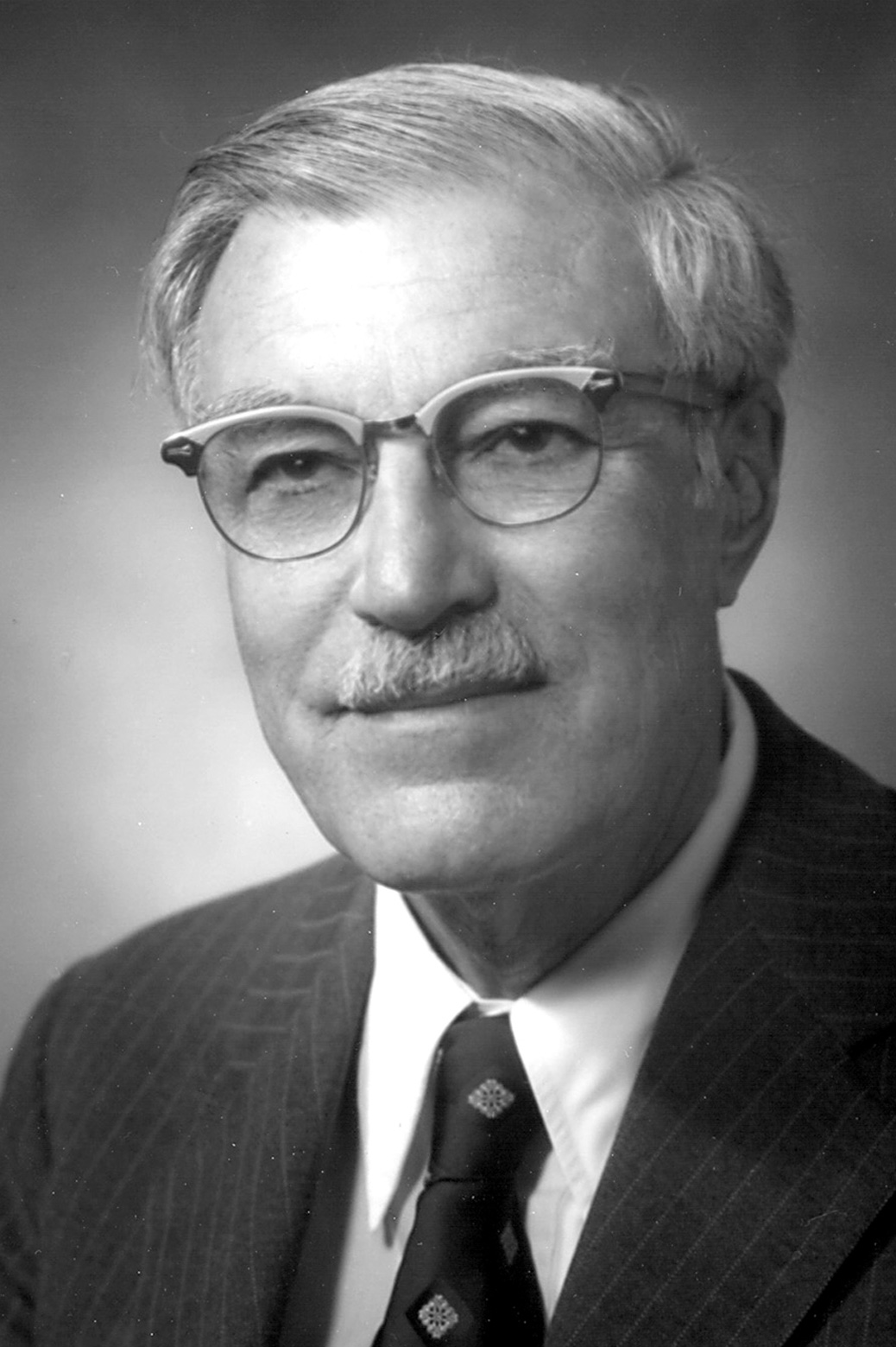 Black and white portrait of Donald L. Katz