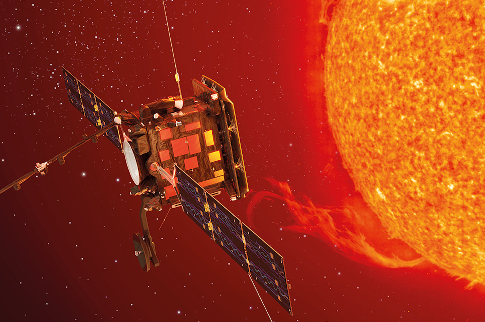 Photo of the Solar Orbiter