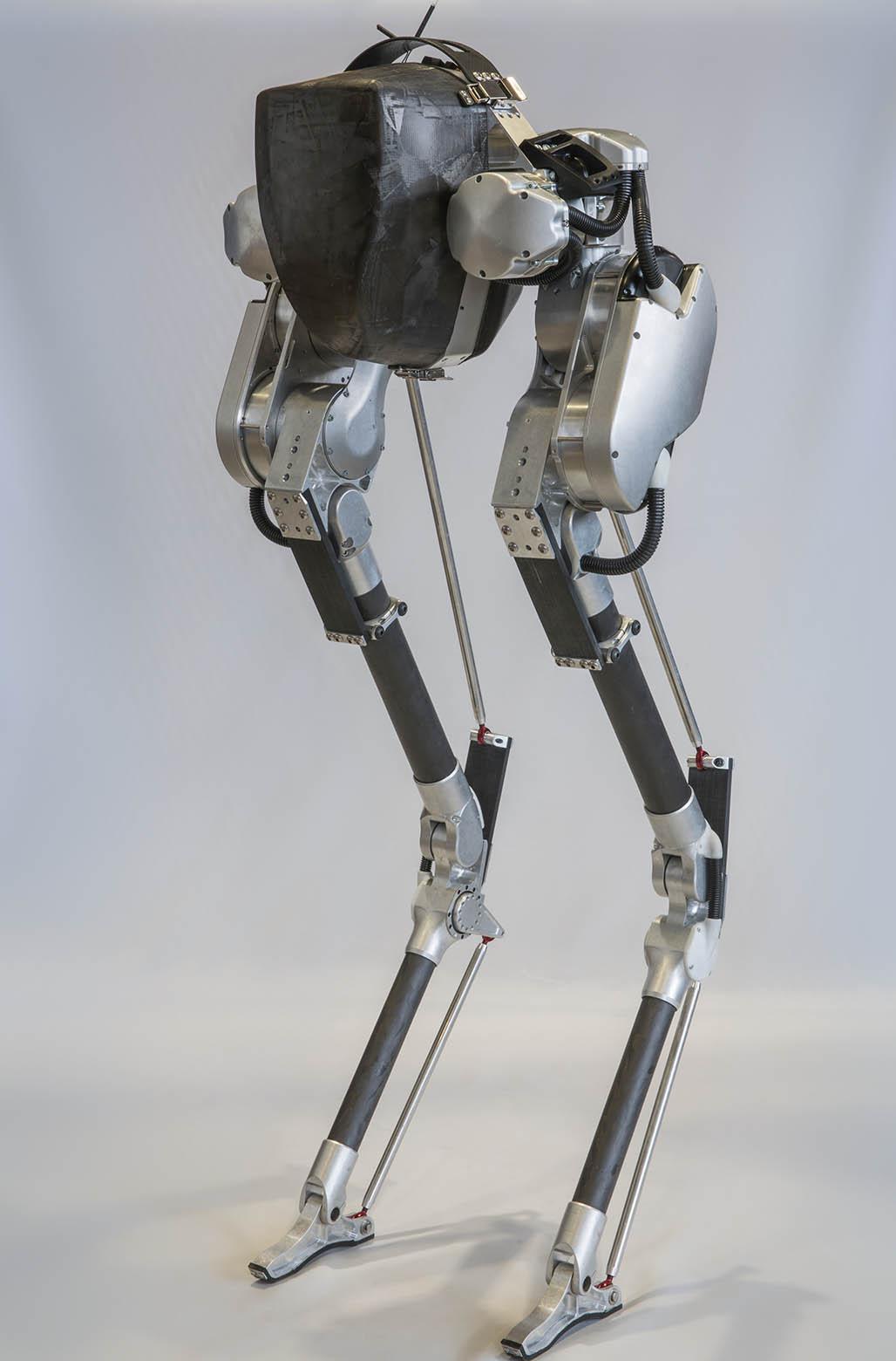 standing bipedal robot cassie