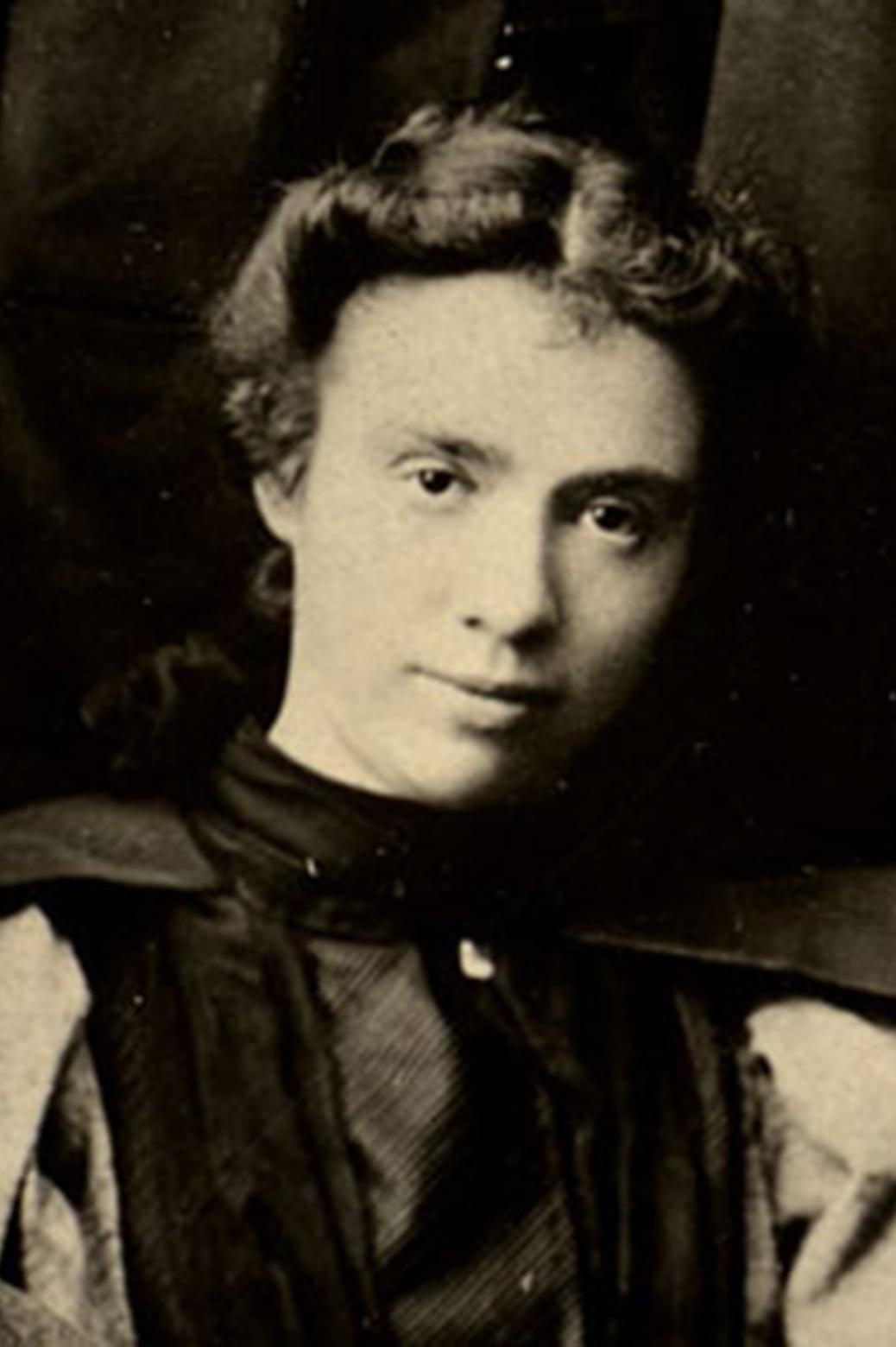 Portrait of Marian Sarah Parker