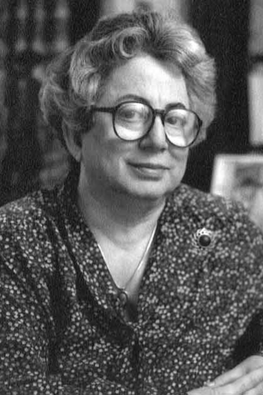 Portrait of Fay Ajzenberg-Selov