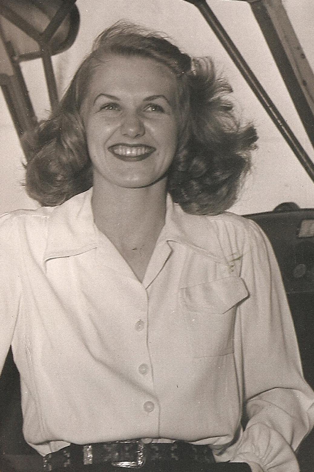 Portrait of Patricia Lewis Pilchard