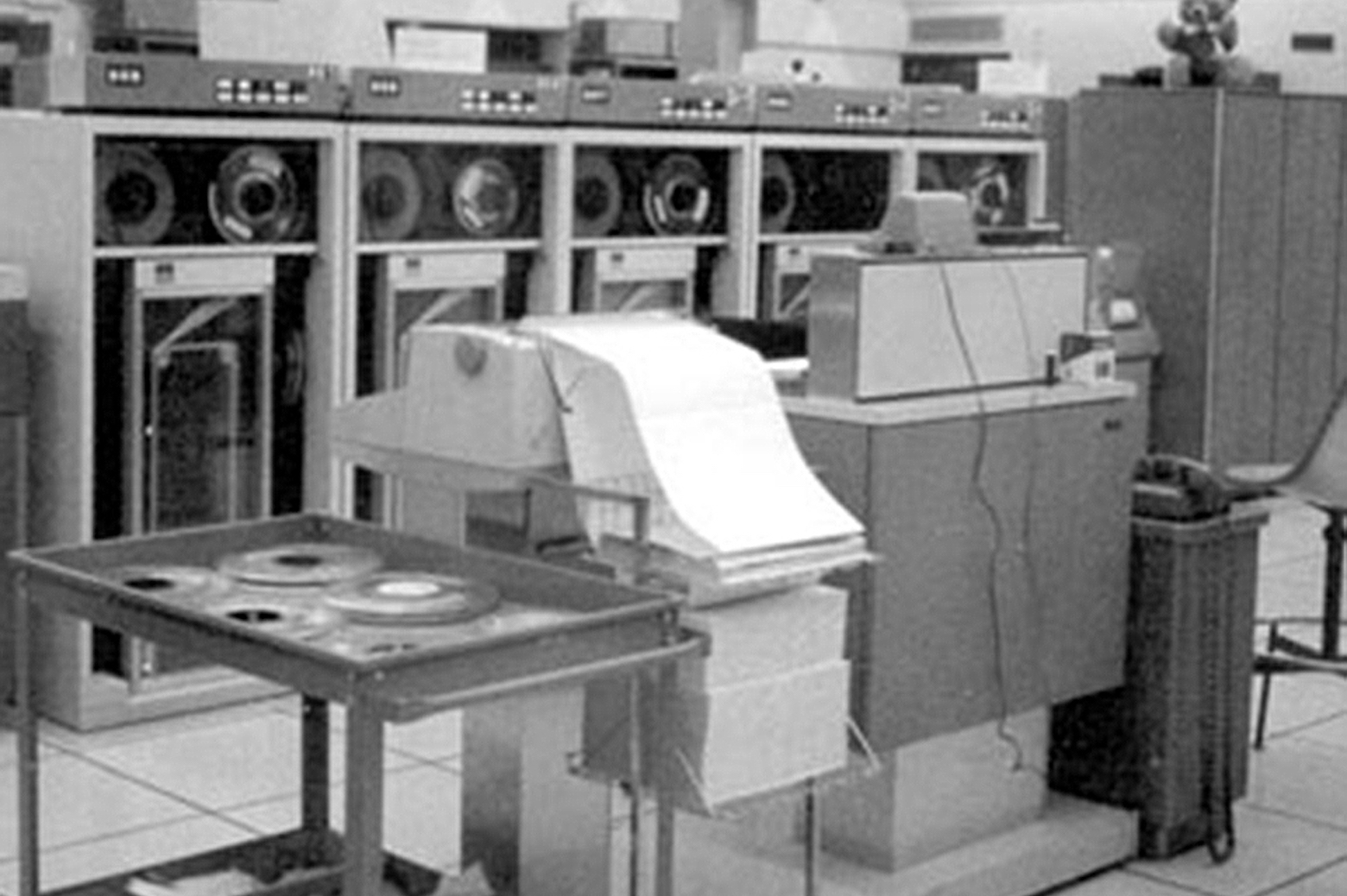 IBM Model 1410 at the University of Michigan Computing Center (circa 1960s)