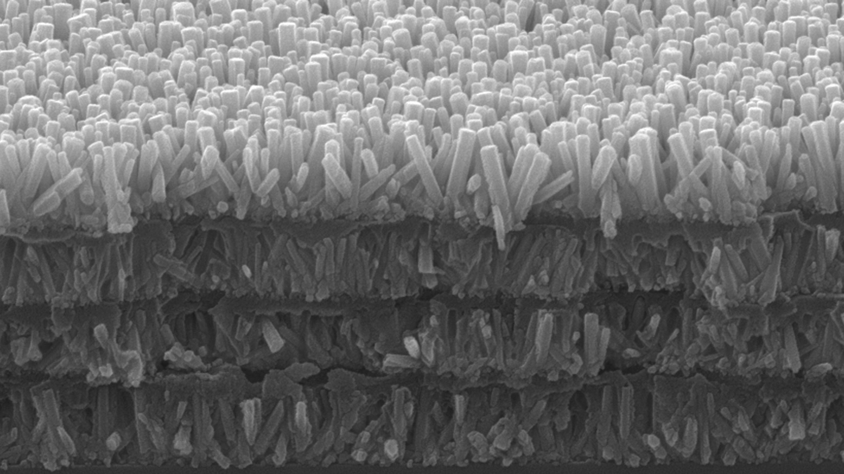 four layers of nanowires