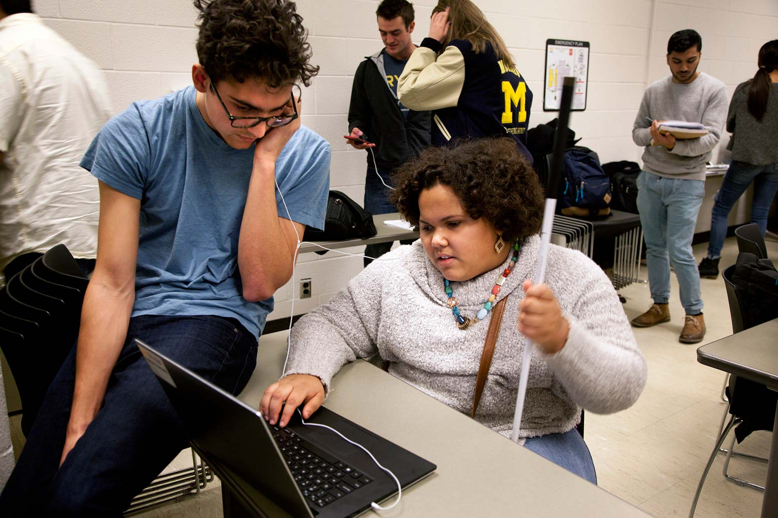 India West speaks with student Gabriel Pascualy