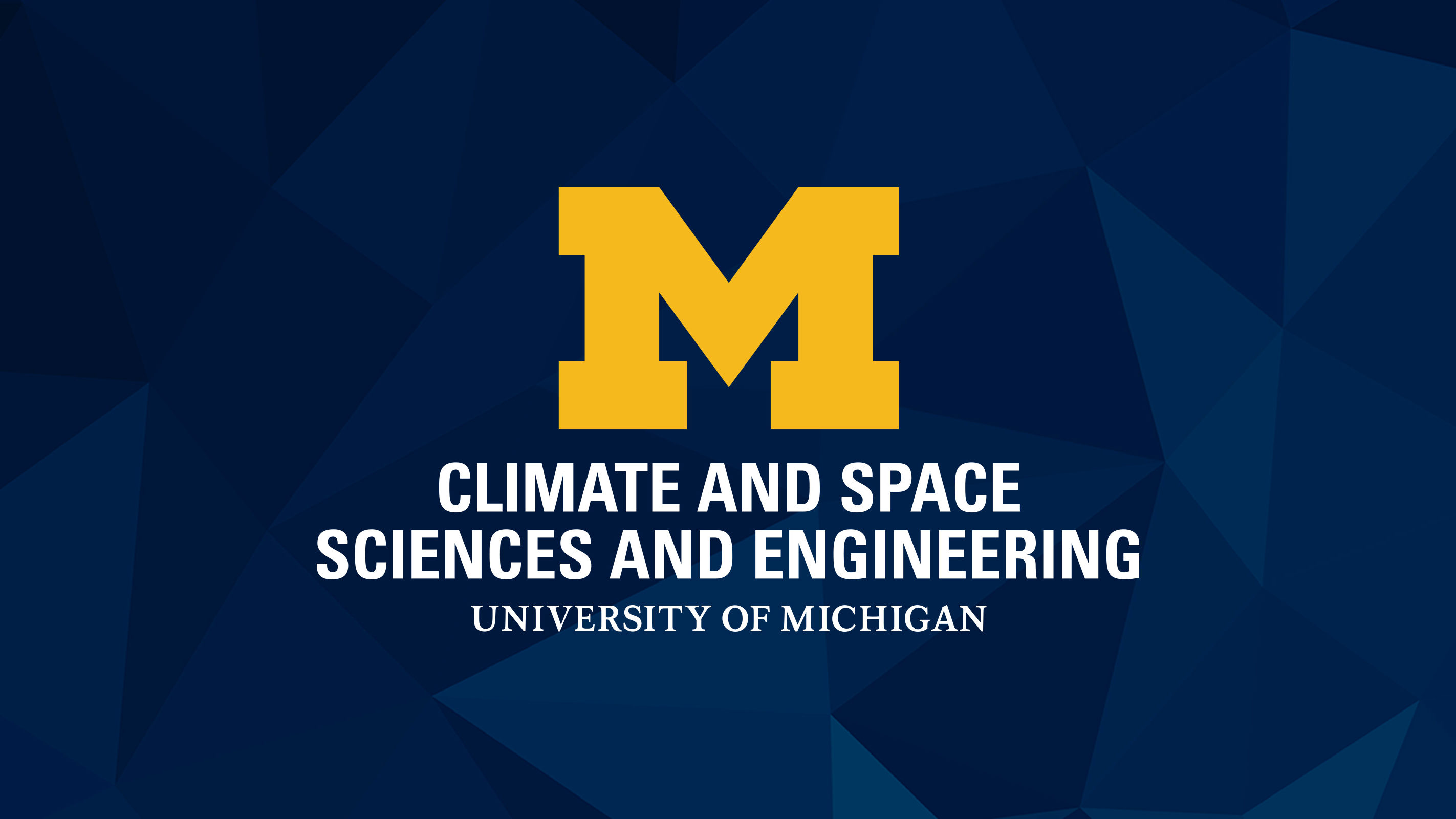 Climate & Space Sciences and Engineering logo