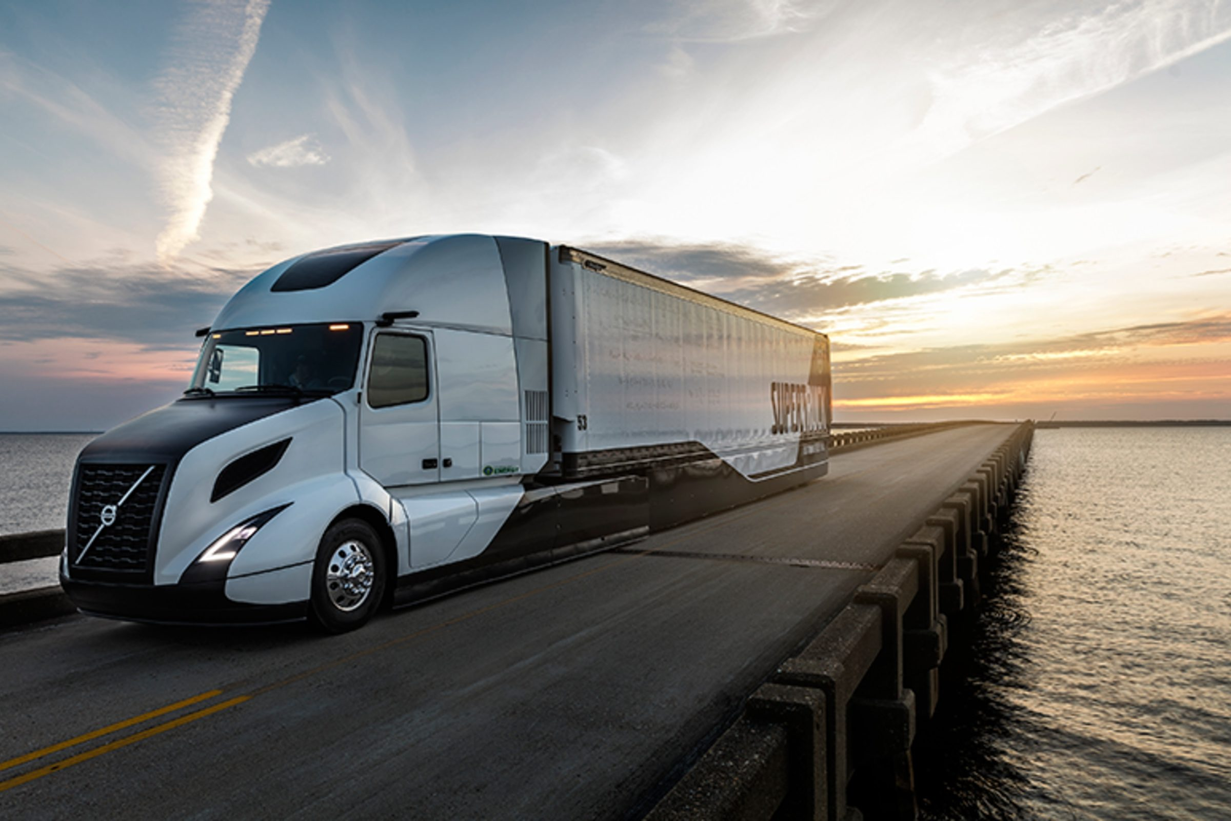 Volvo's new super truck. Photo: U-M Engineering.
