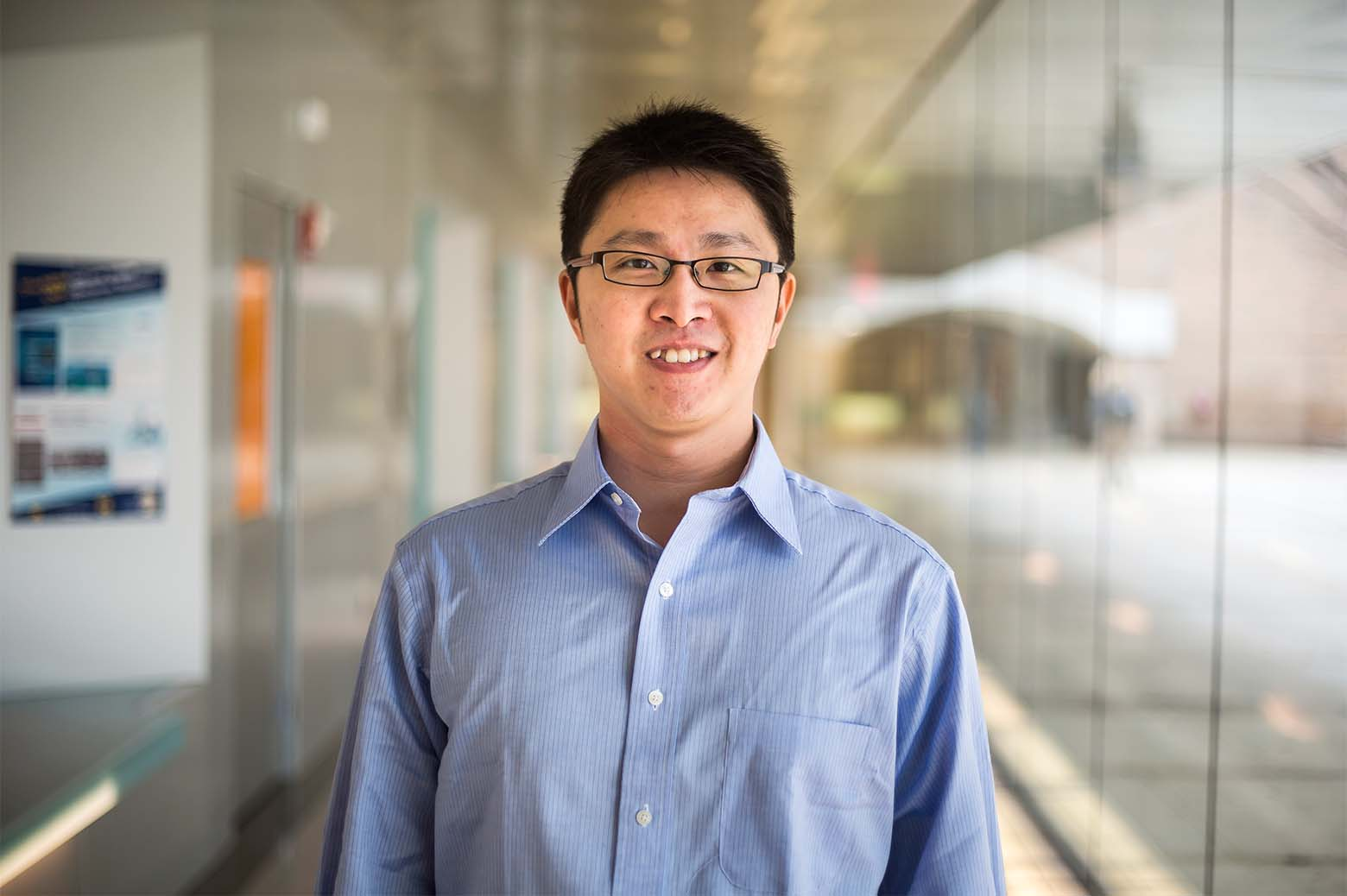 Portrait of Henry Lam. Photo: Joseph Xu, Michigan Engineering.