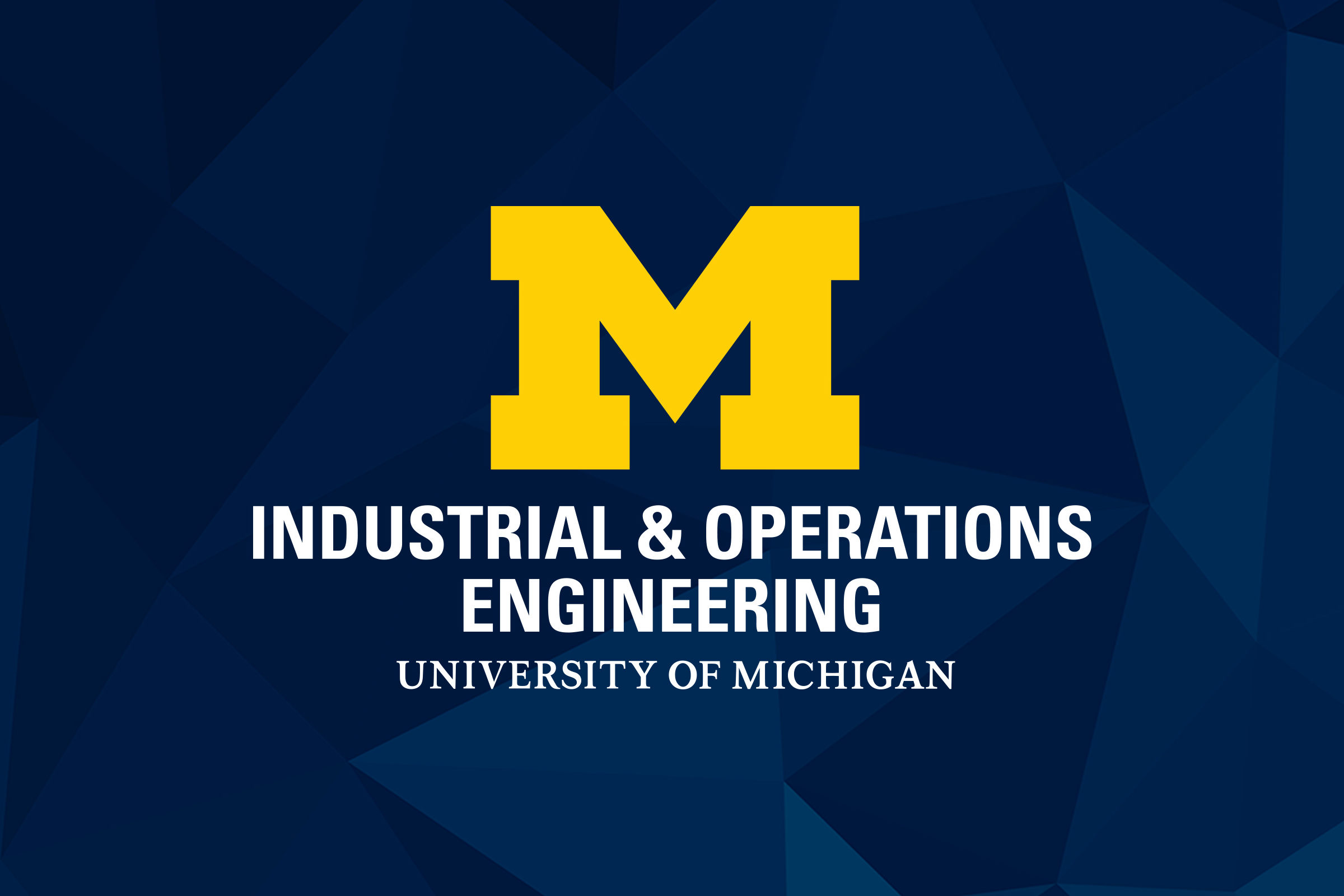 Industrial & Operations Engineering logo