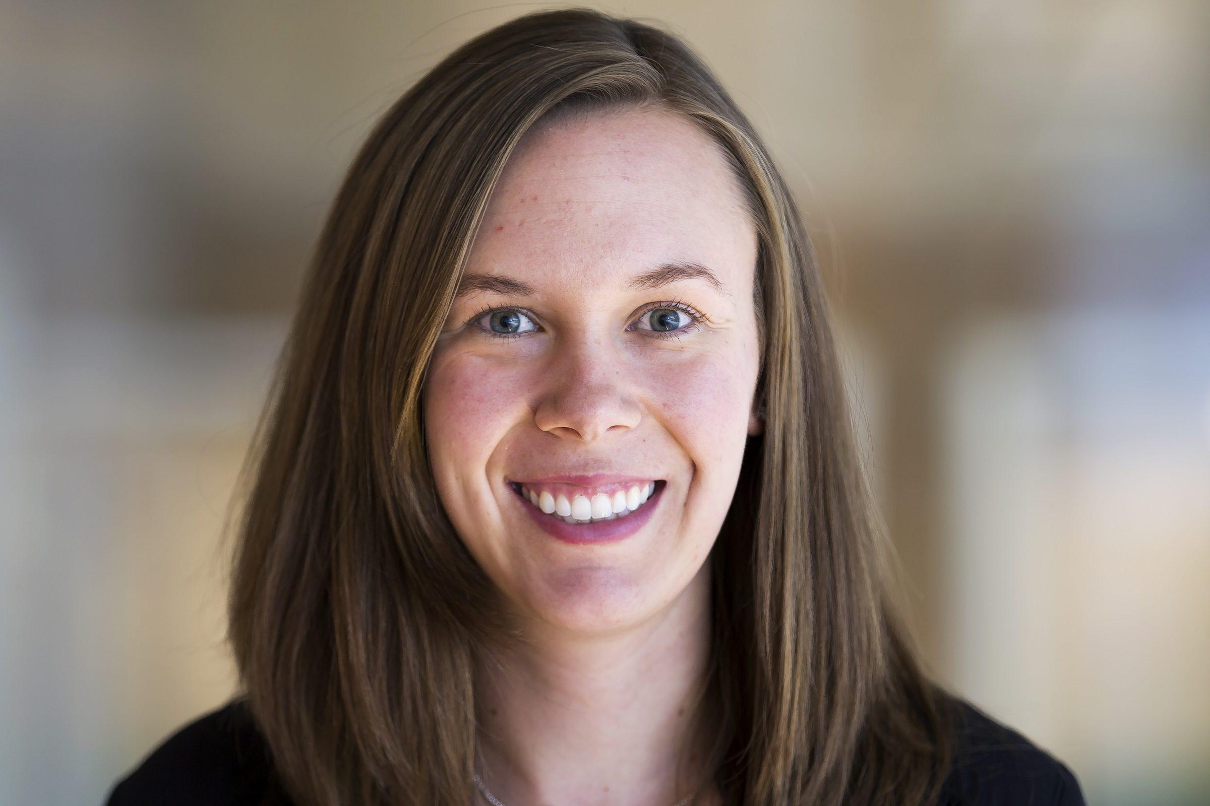 Portrait of Katie Reichl.
