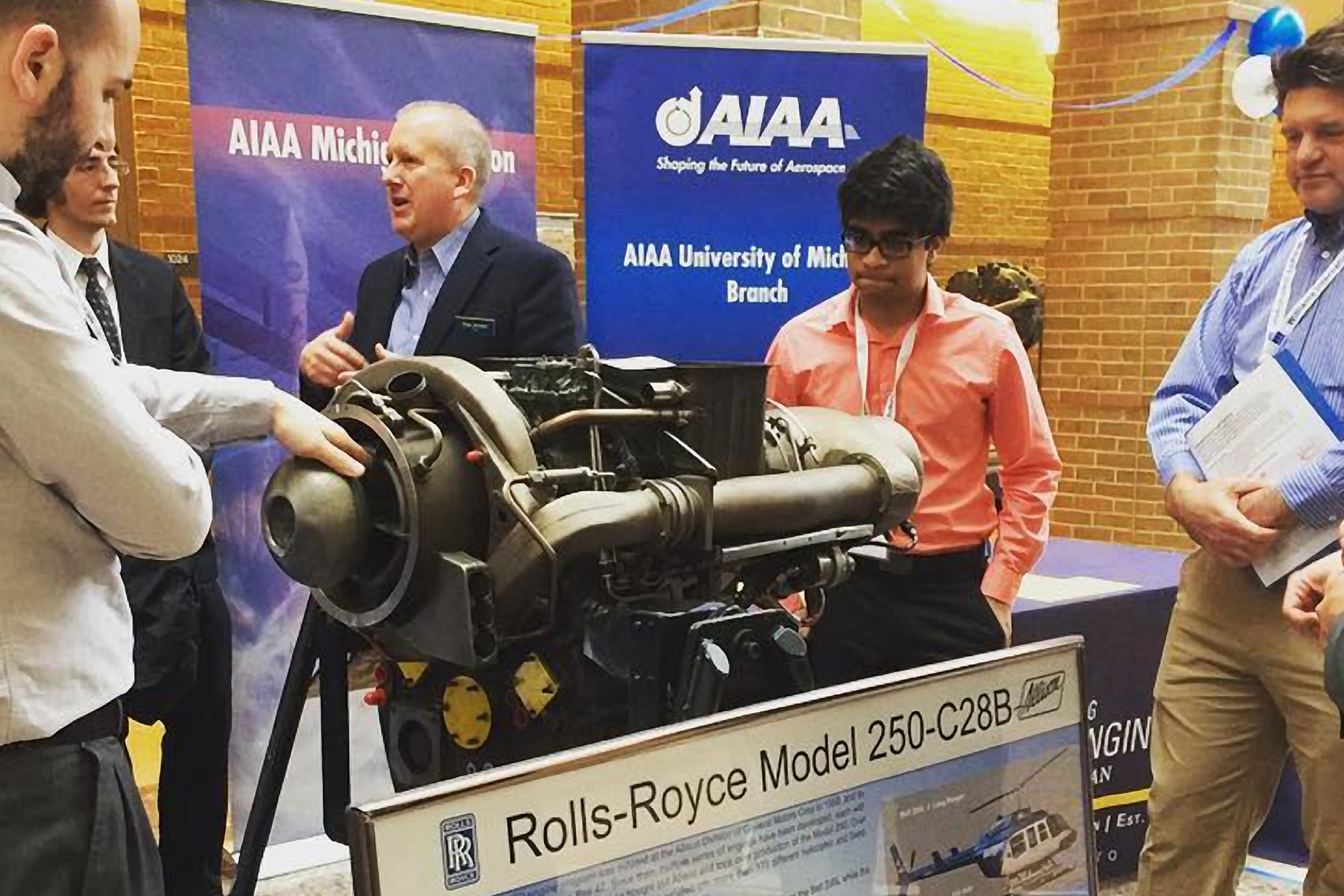 M250 engine to join hardware on-display in FXB atrium