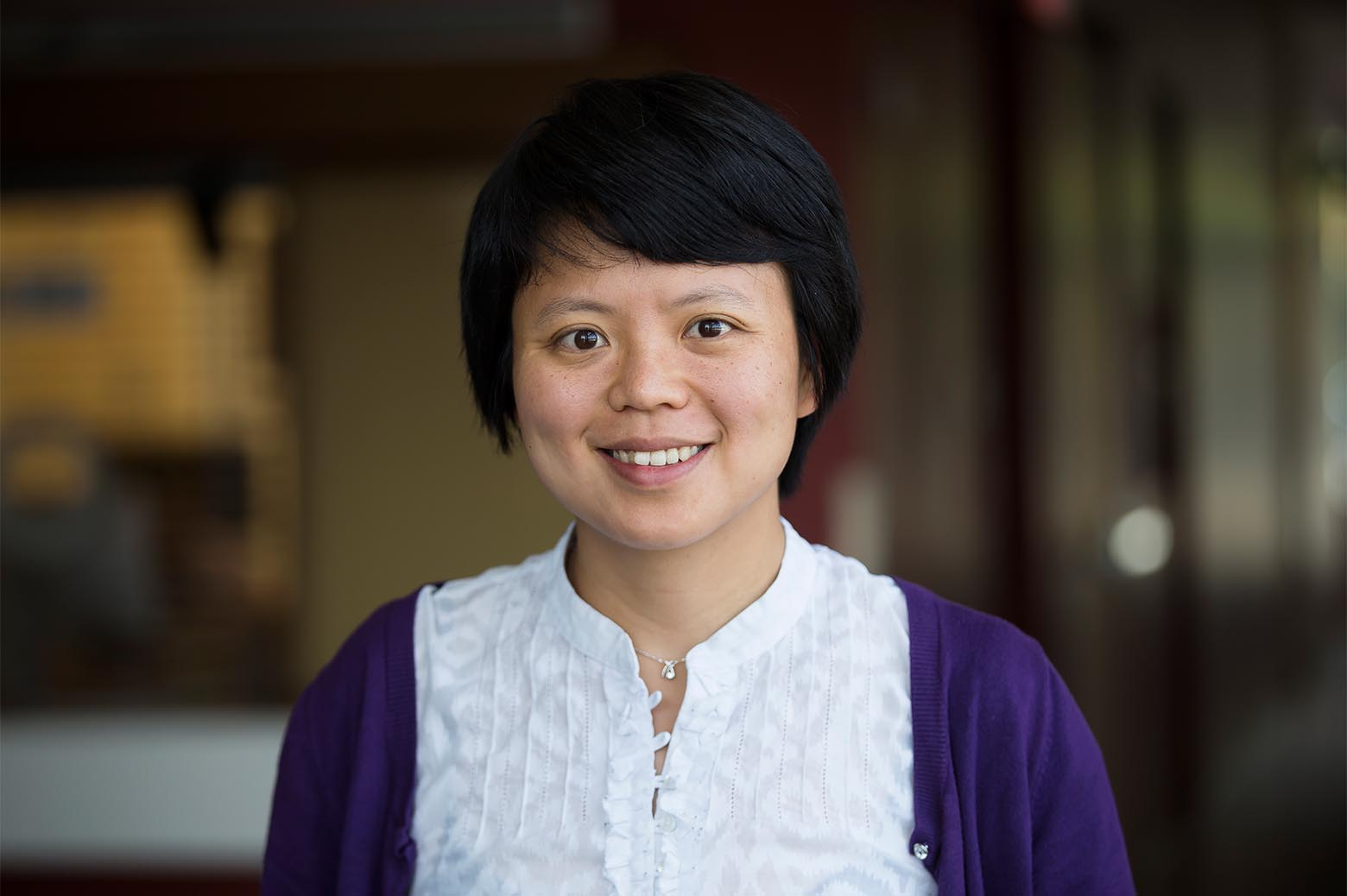 Portrait of Siqian Shen. Photo: Joseph Xu, Michigan Engineering.