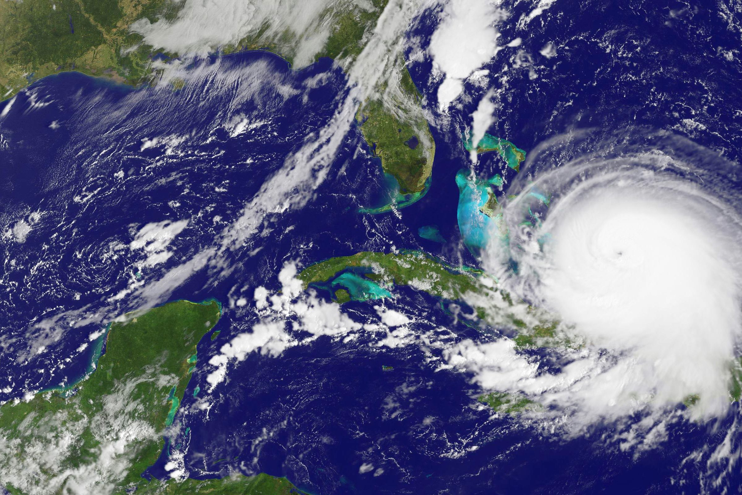 NASA image of Joaquin