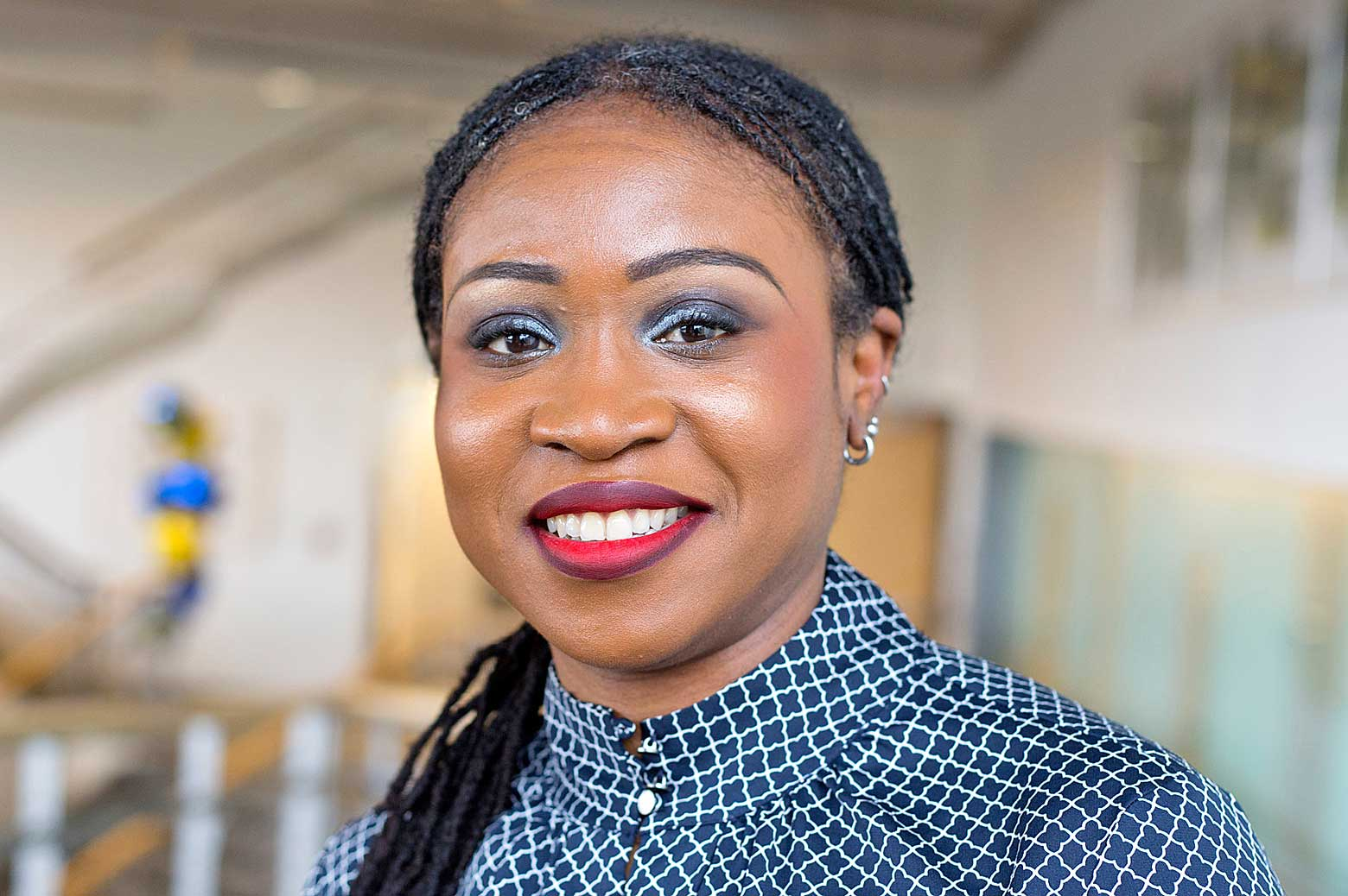 Portrait of Lola Eniola-Adefeso