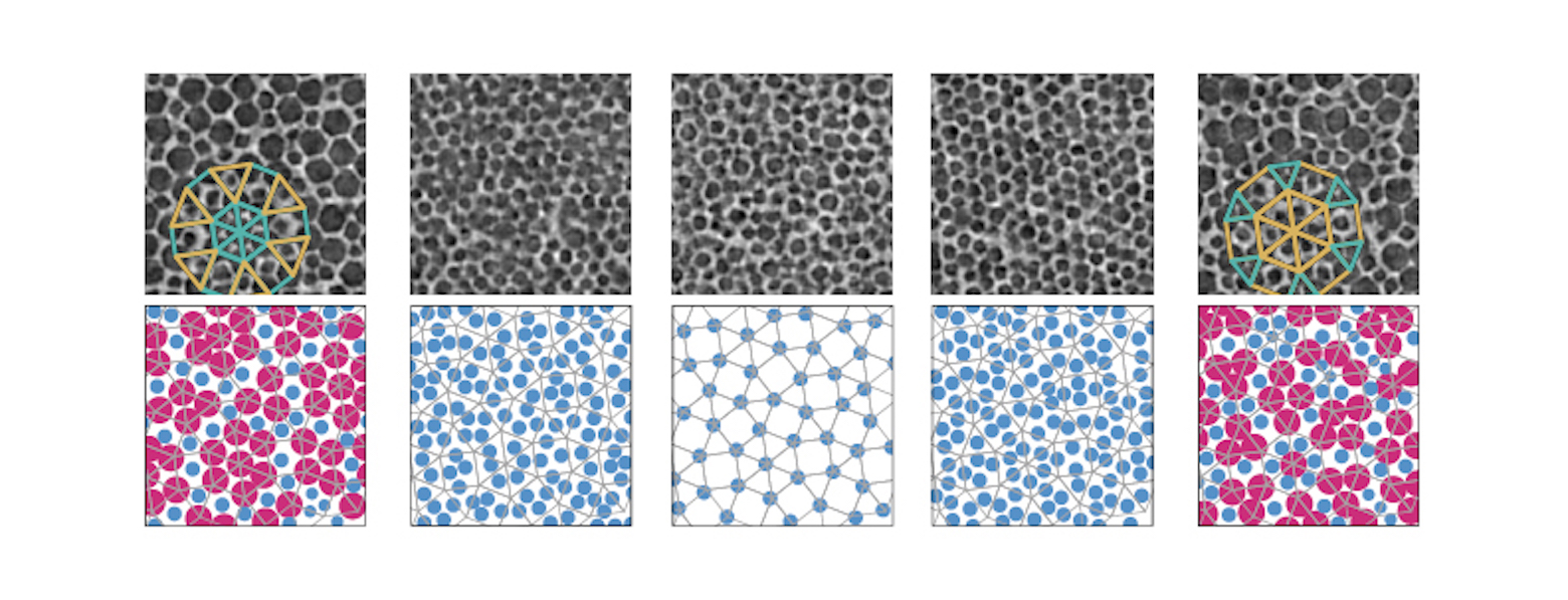 The fiver layers of the quasicrystal.