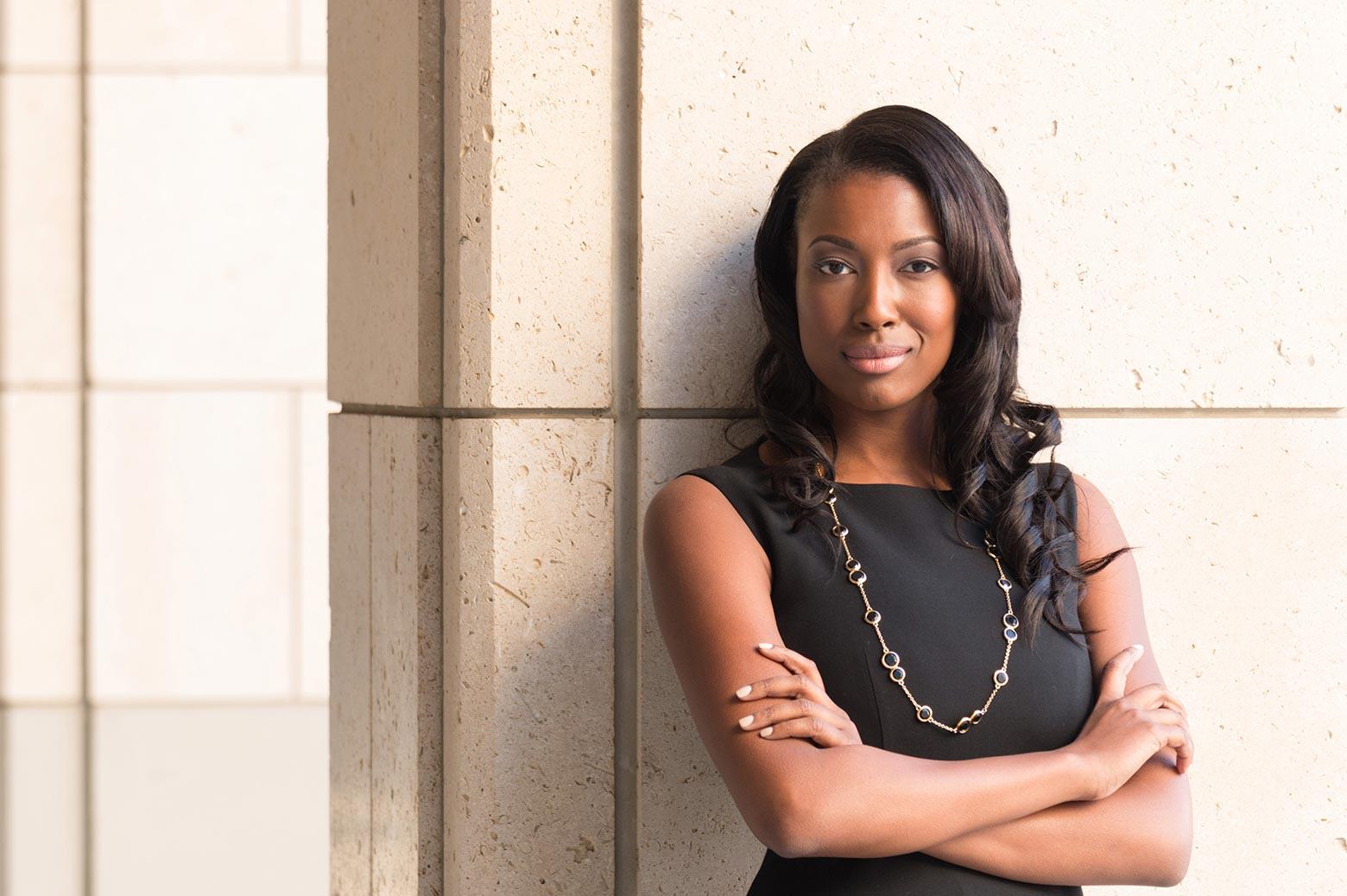Portrait of Aisha Bowe
