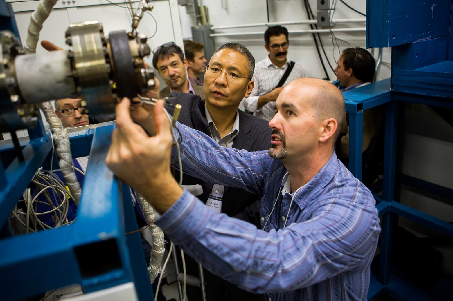 Tour of the Ion Beam Lab