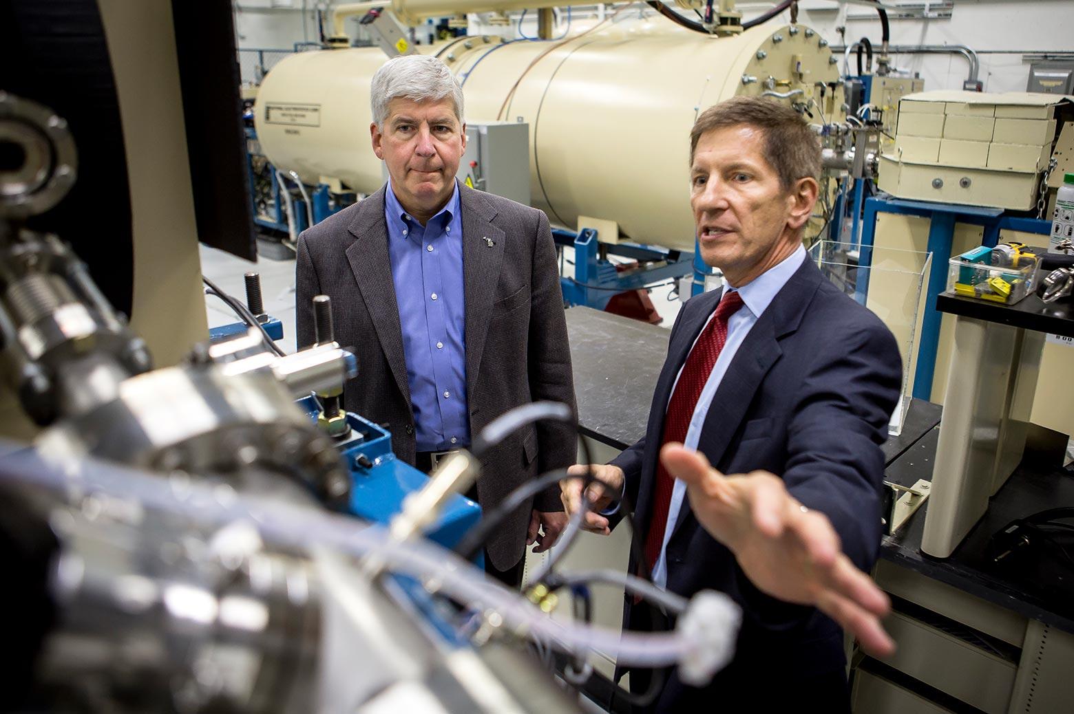 Tour of the Ion Beam Laboratory