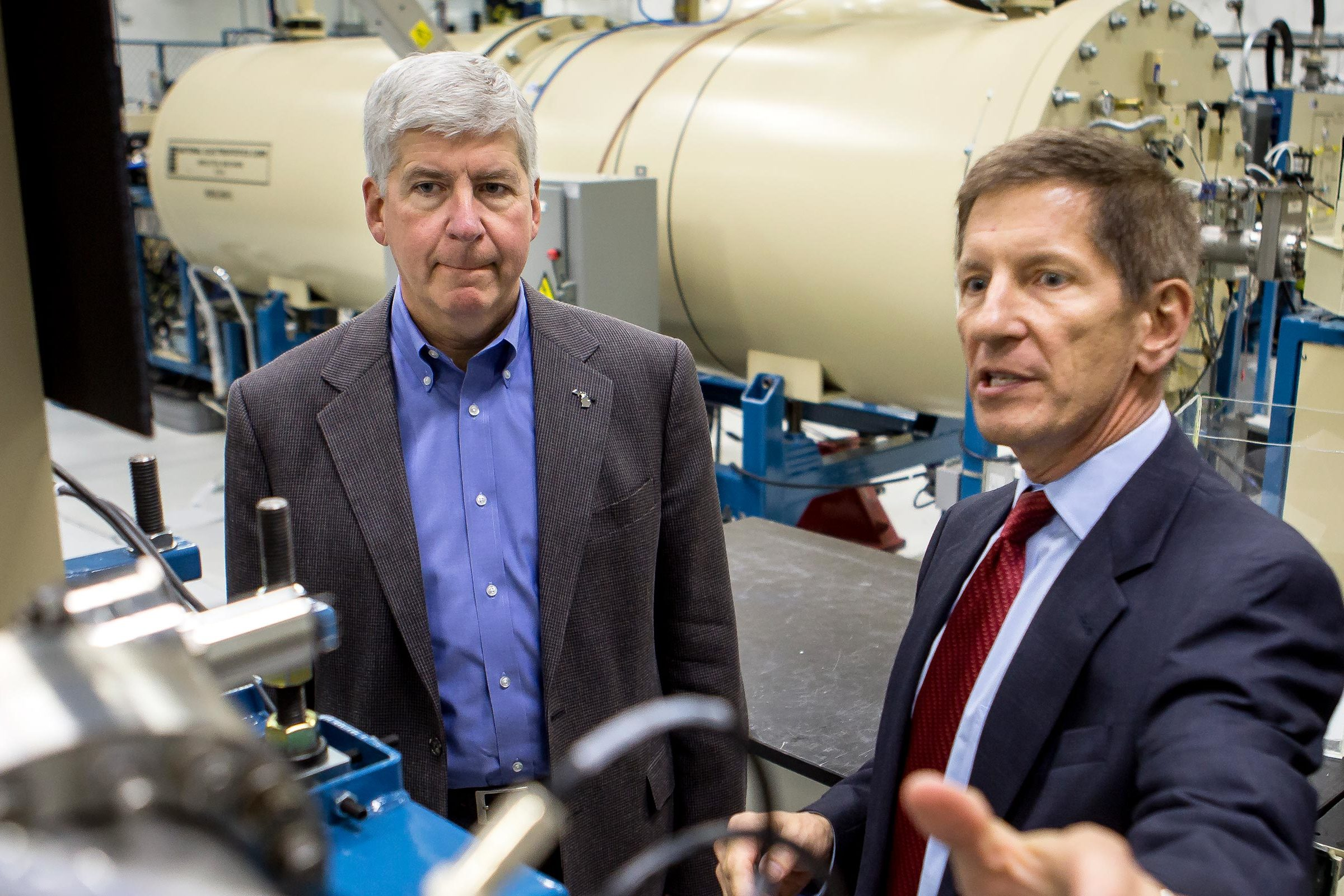 Tour of Michigan Ion Beam Lab