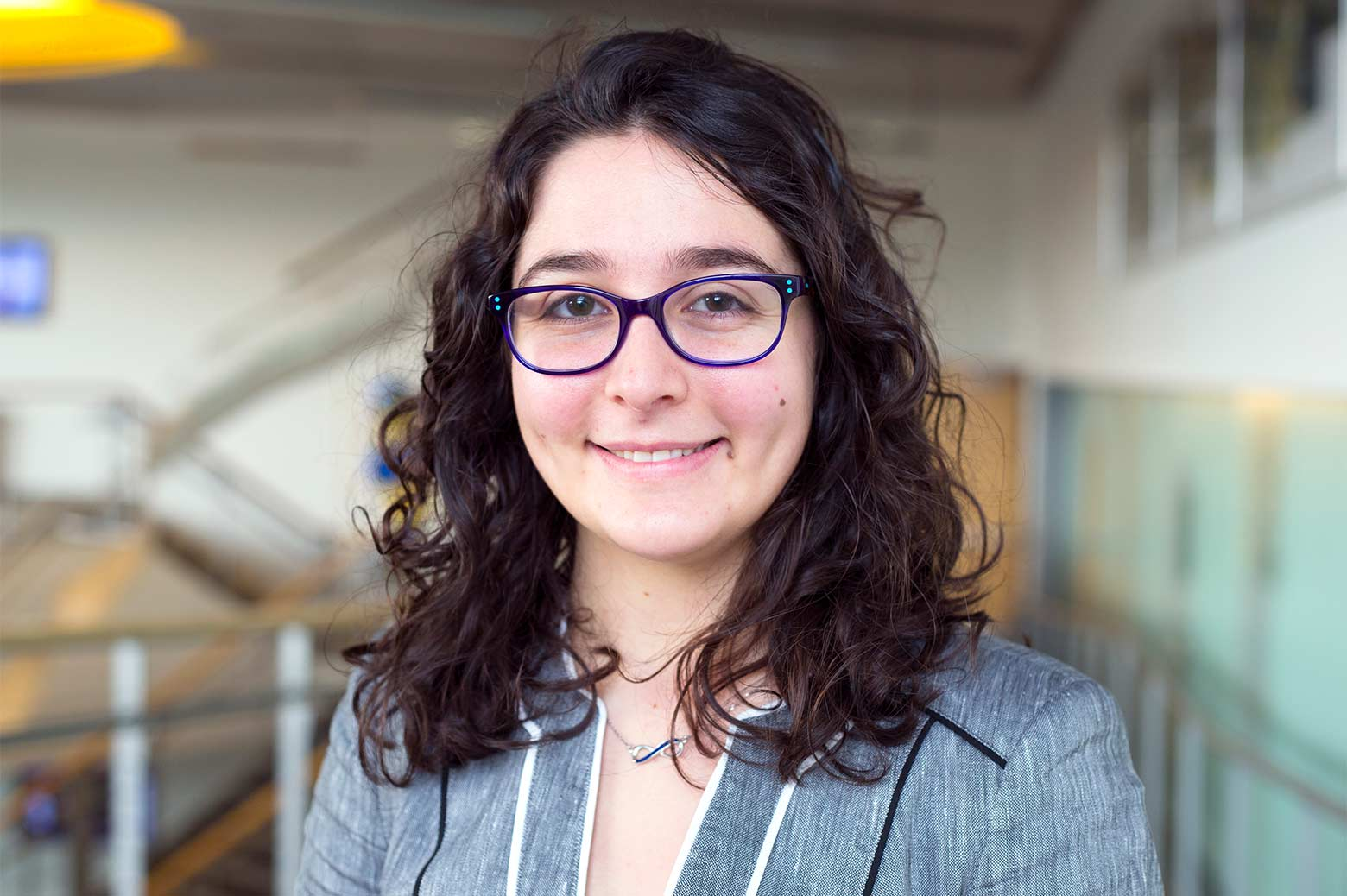 Portrait of Ariel Sandberg. Photo: Akhil Kantipuly, Michigan Engineering.
