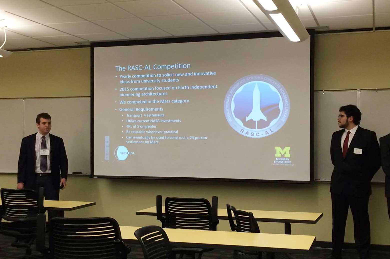 AIAA Region III presentation.