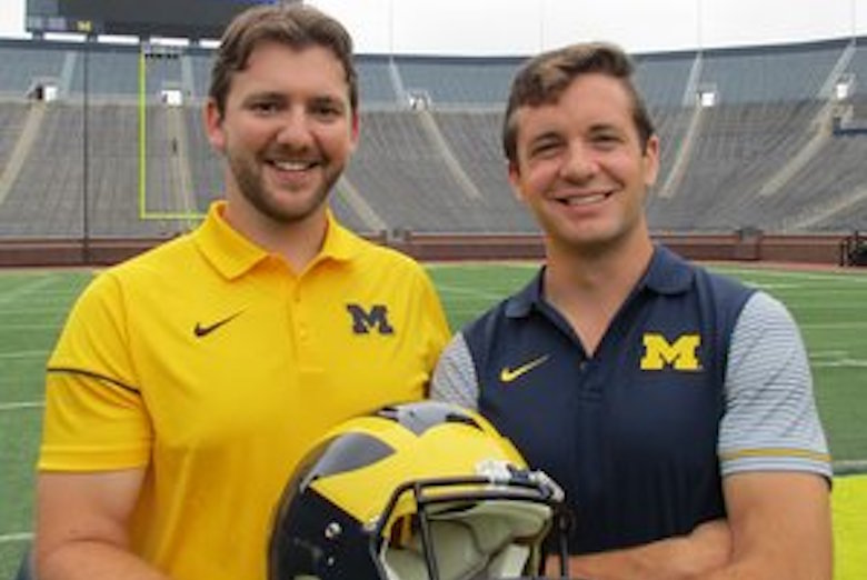 Kevin and Kyle at the Big House