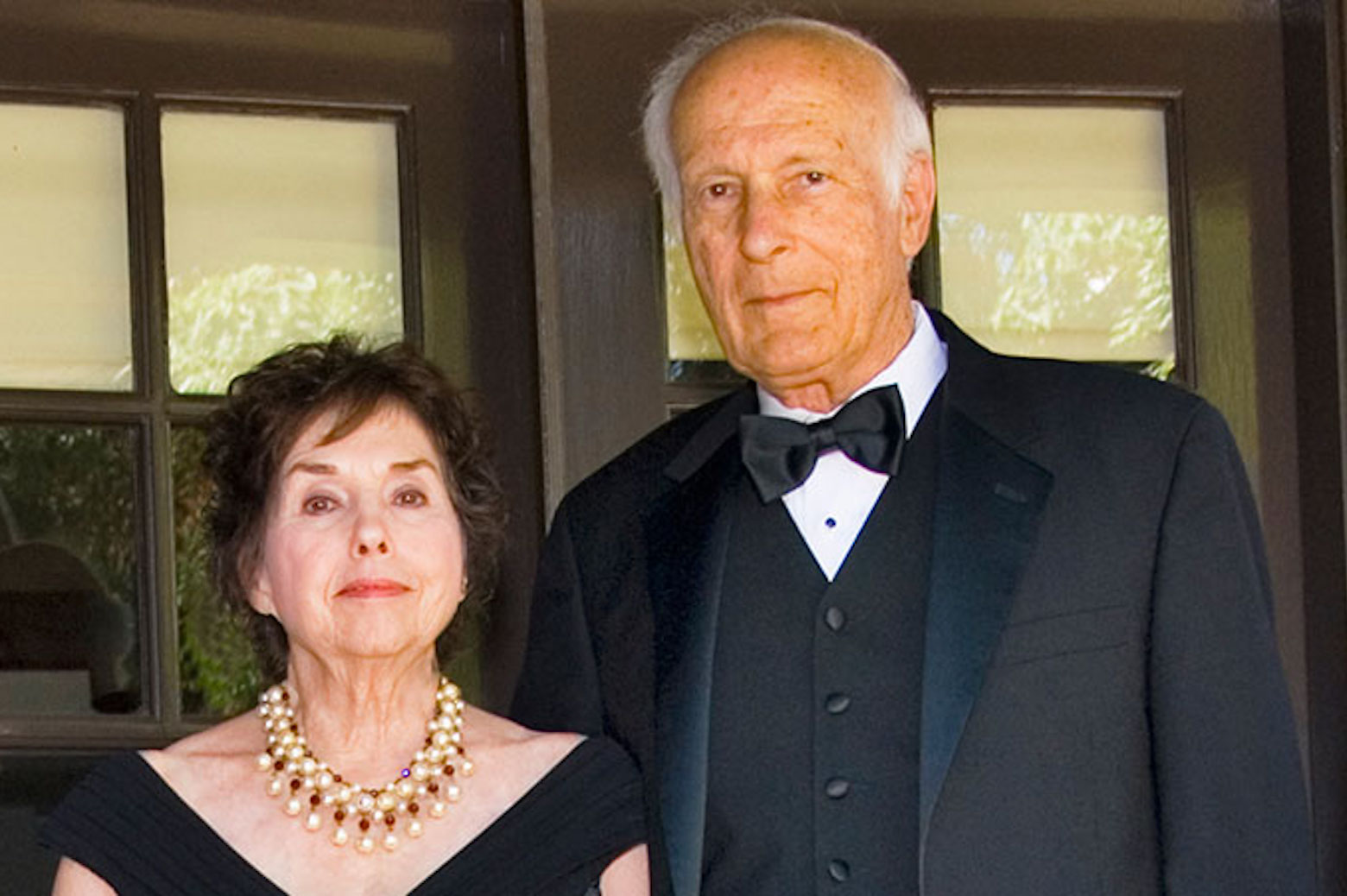 Portrait of Howard and Beverly Sachar
