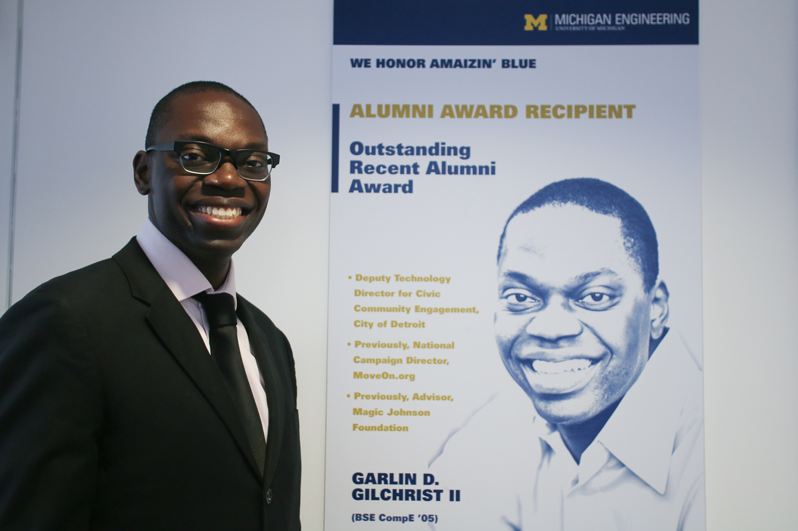 Garlin Gilchrist Outstanding Recent Alumni