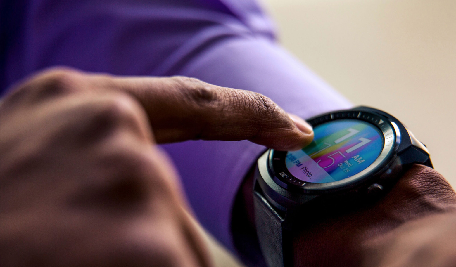 Synaptics wearable touchscreen