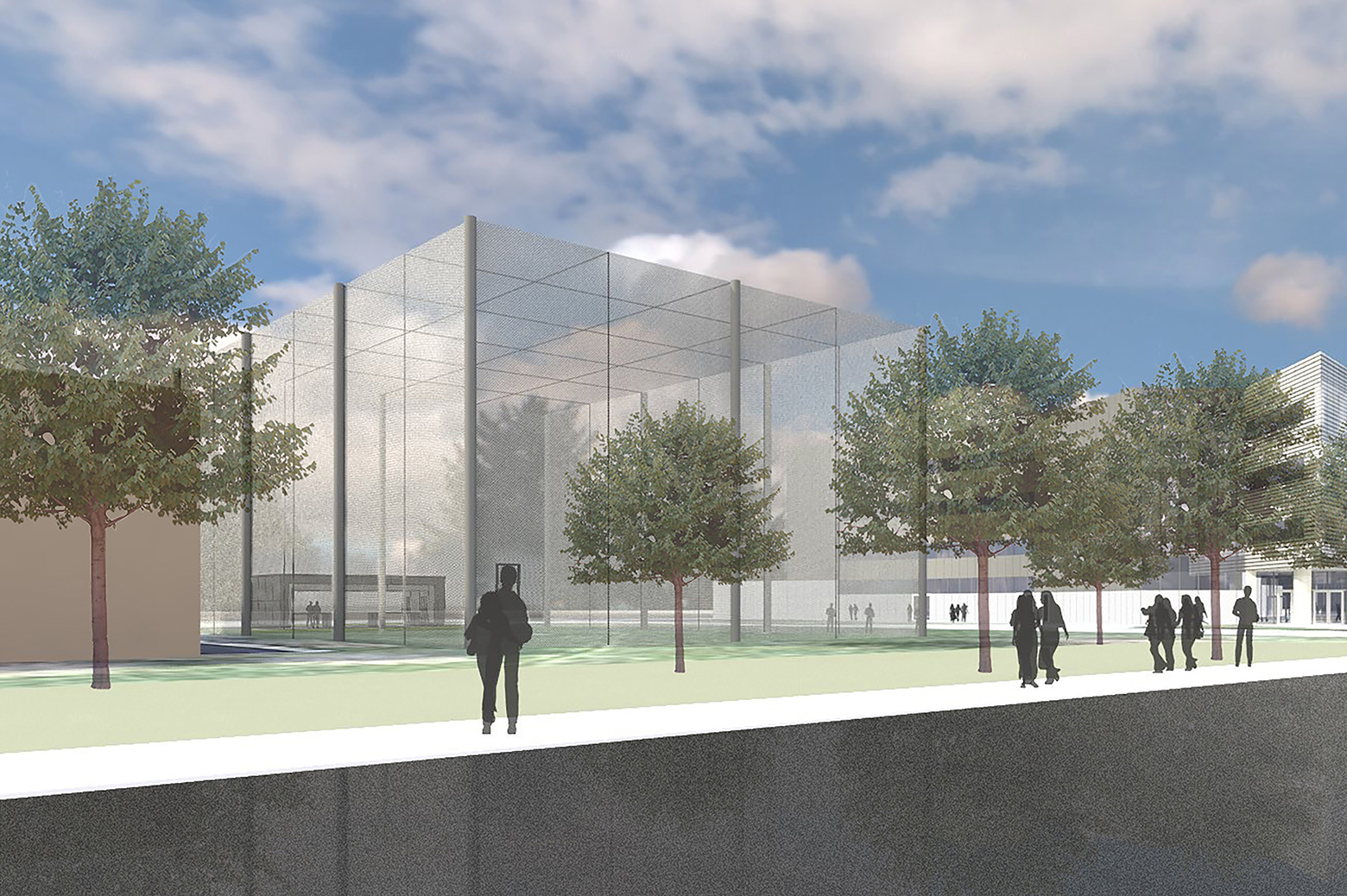 Outdoor Drone Complex Planned The Michigan Engineer News Center