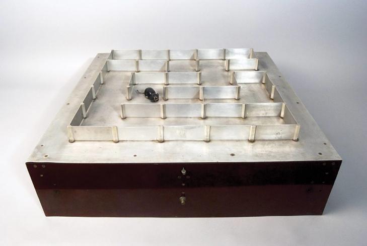 Claude Shannon's robotic mouse