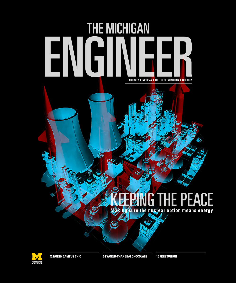 The Michigan Engineer Fall 2017 cover image
