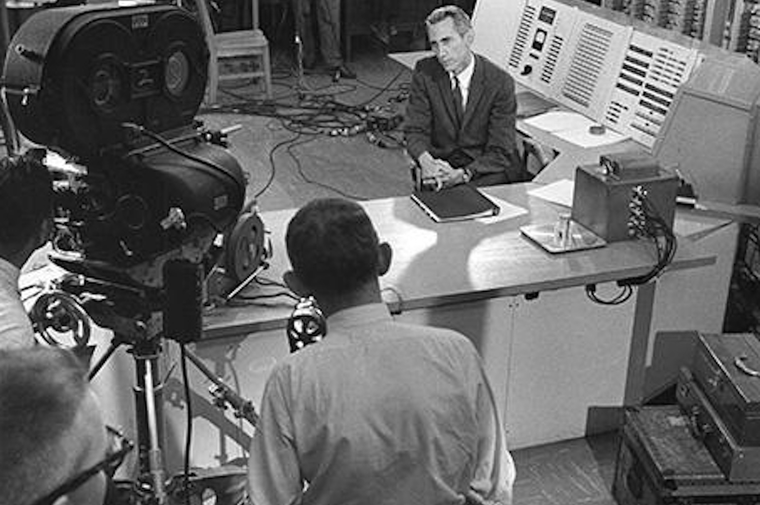 Claude Shannon appearing on CBS