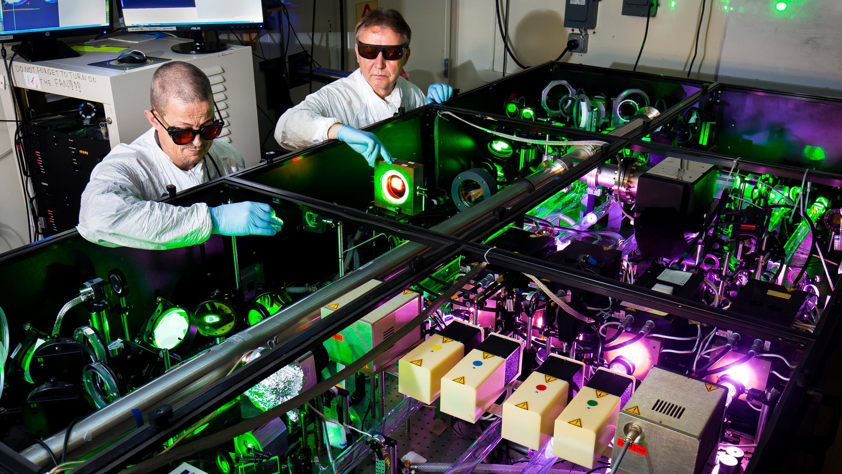 Doubling the power of the world's most intense laser