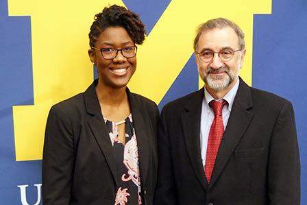 Dr. Reid & her advisor