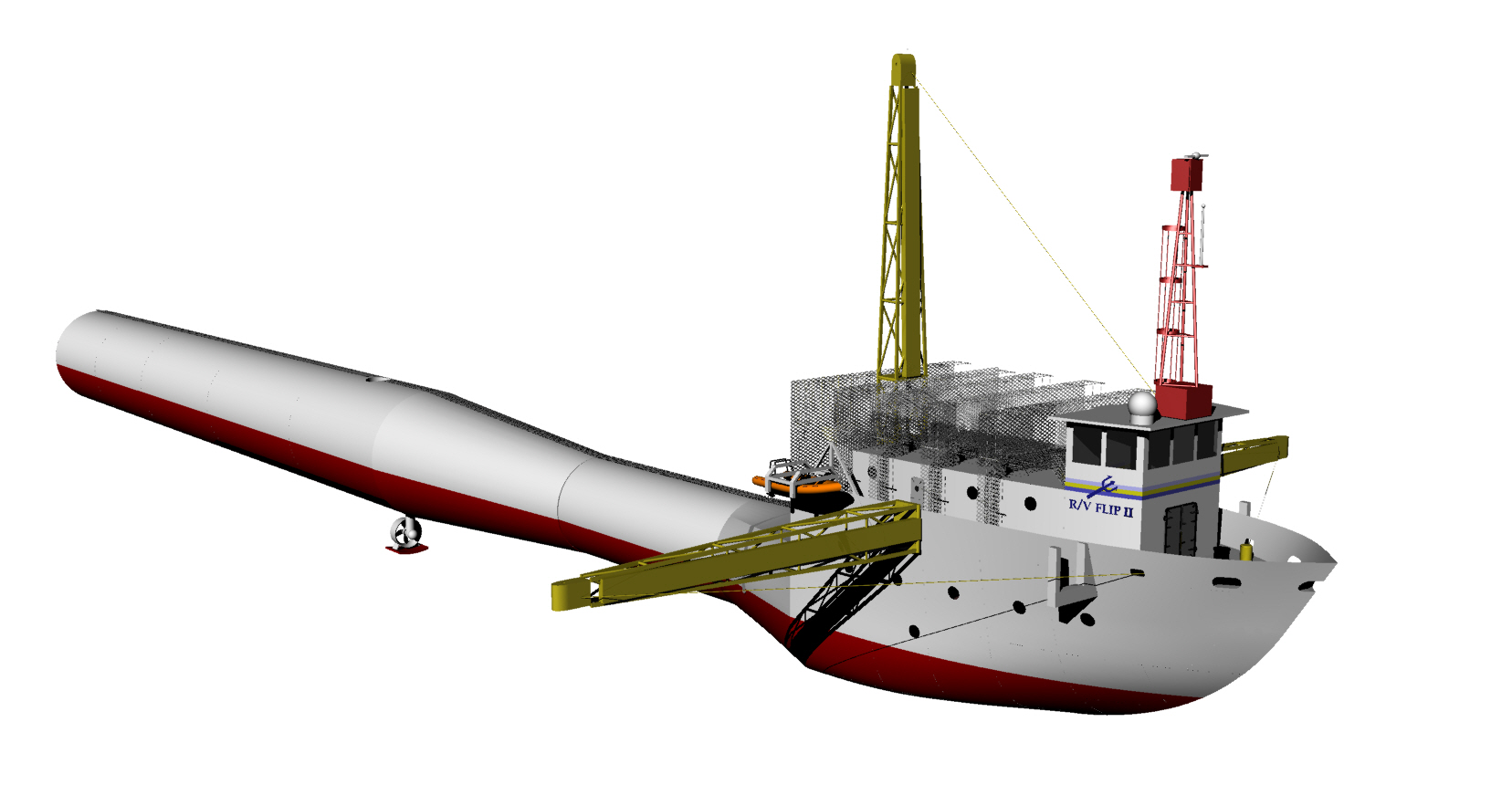 2014 winning ship design R/V FLIP II