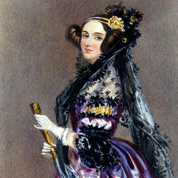 a painting of a woman in elegant clothing
