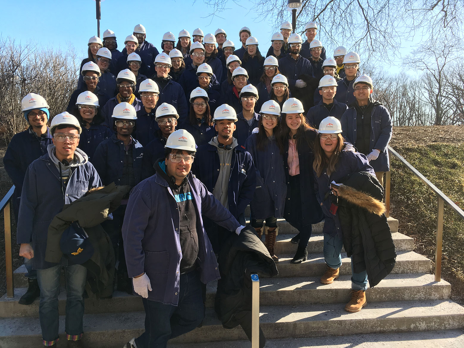ASCE at ArcelorMittal Steel Mill