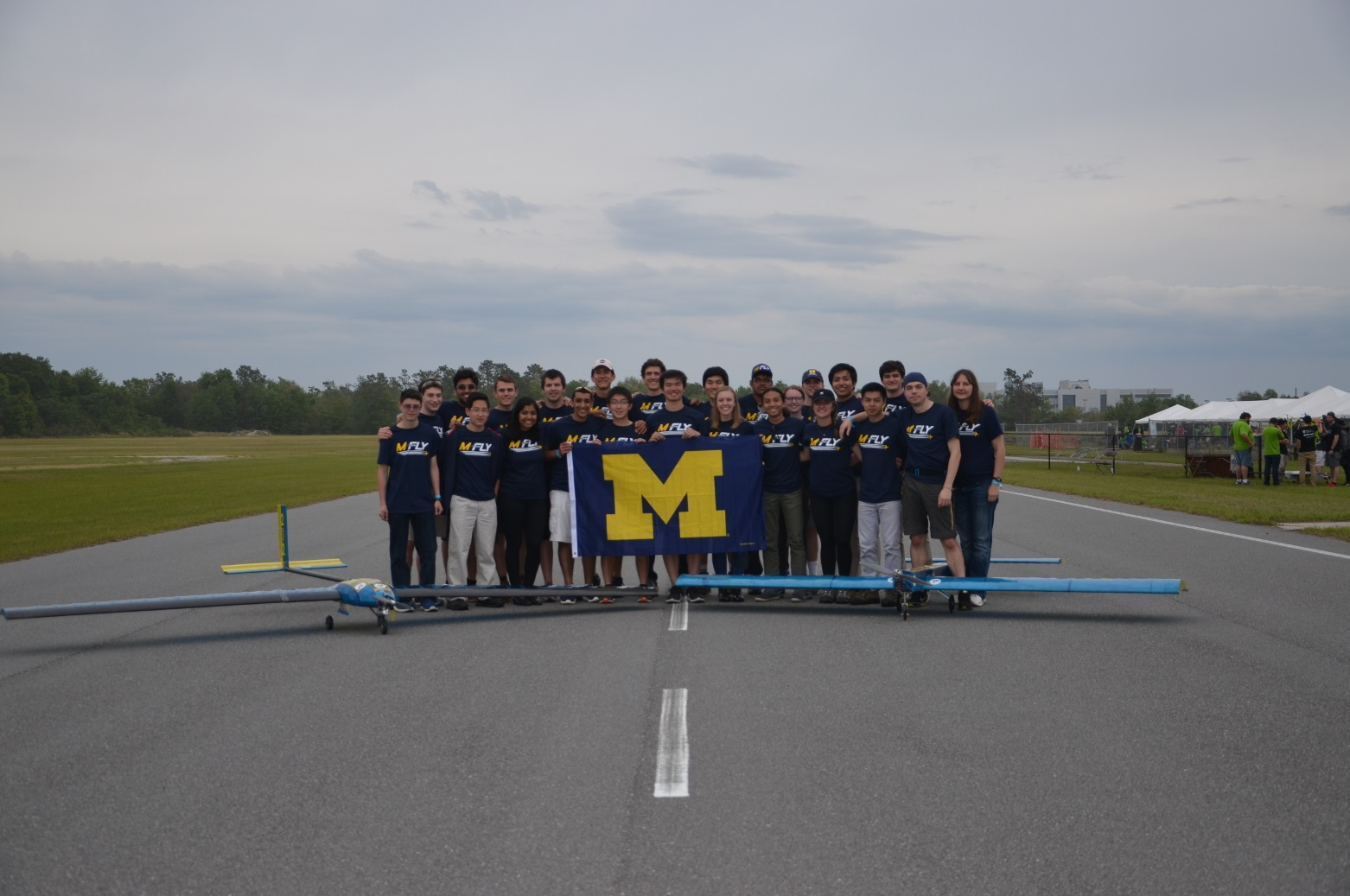 M-Fly team photo