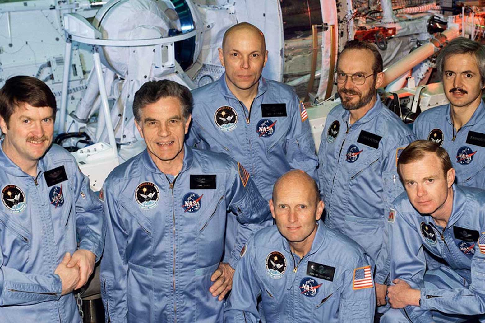 Group picture of the astronauts