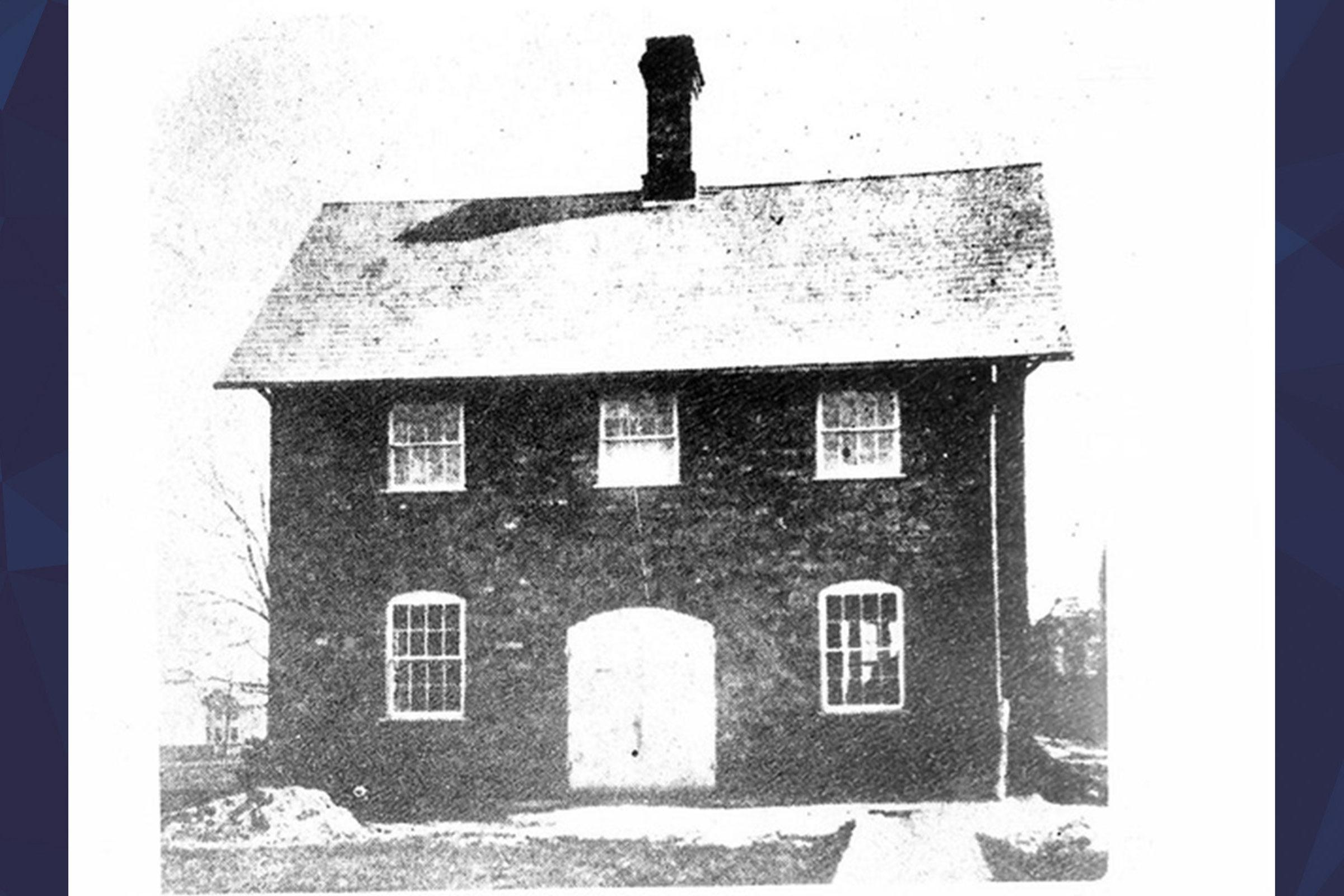 small brick building