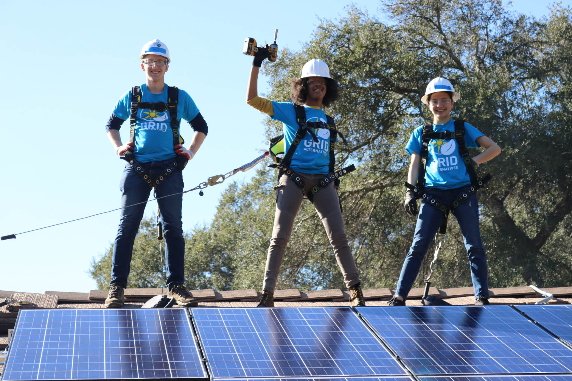 GRID Solar students