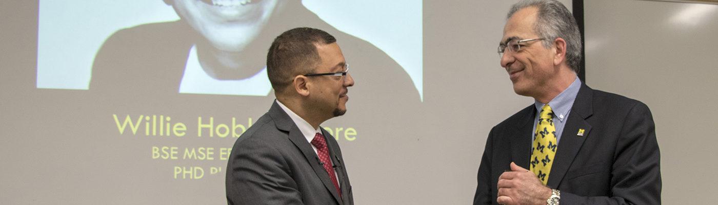 Dr. Isaac Porche receives award