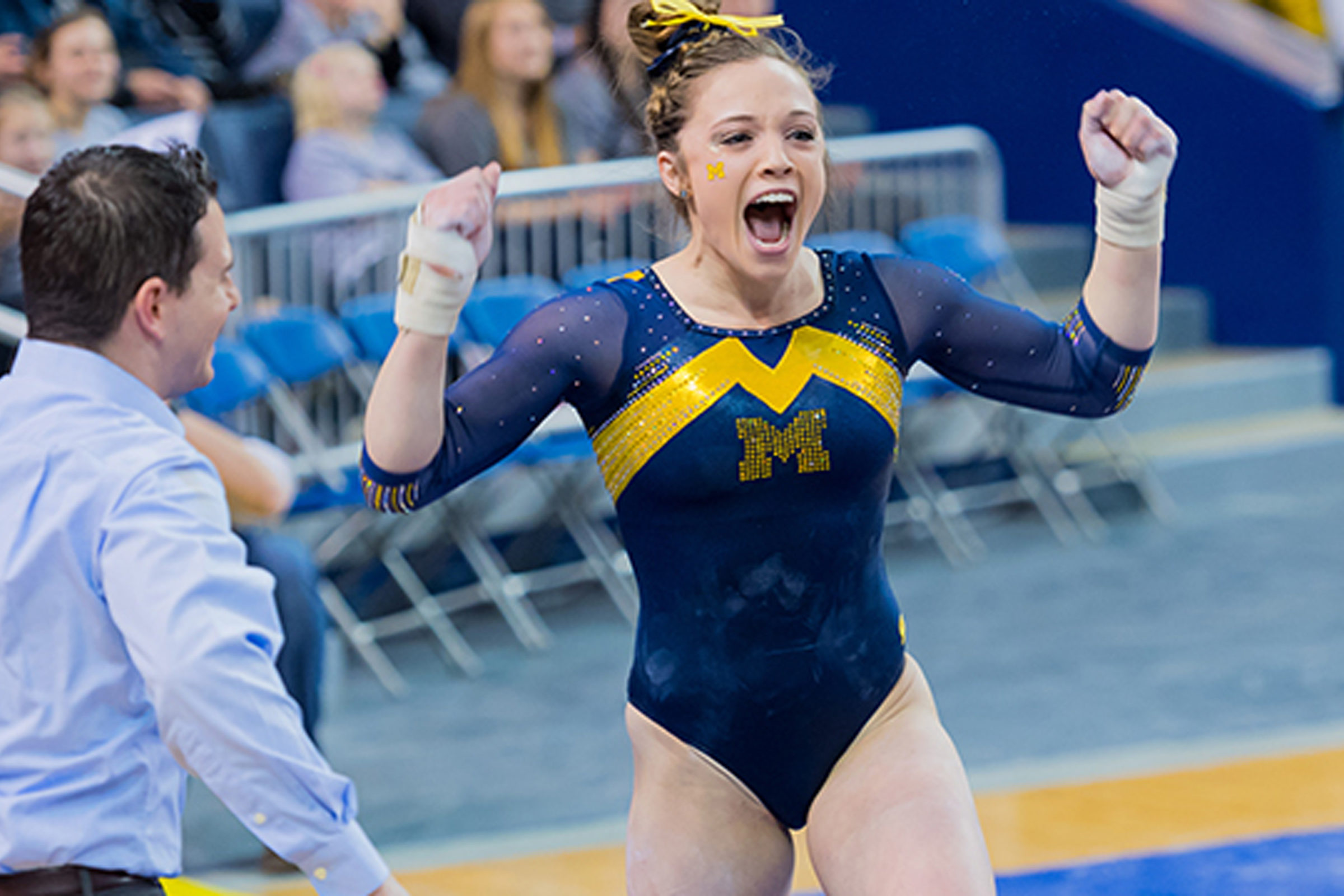 Photo of U-M gymnast Emma McLean