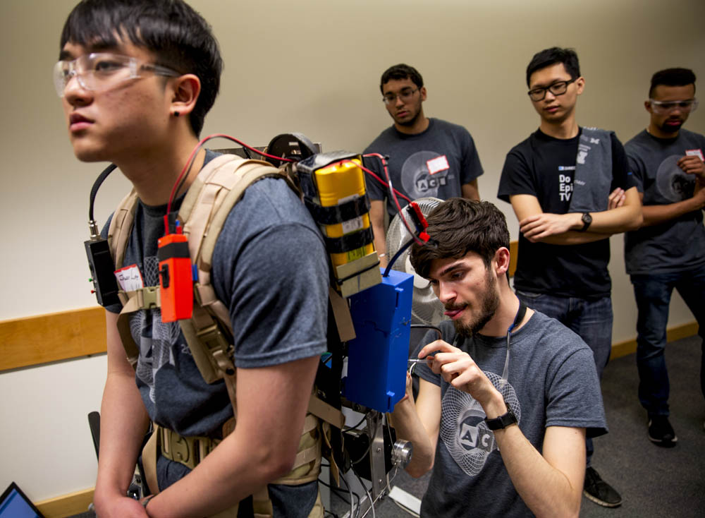 exoskeleton repairs